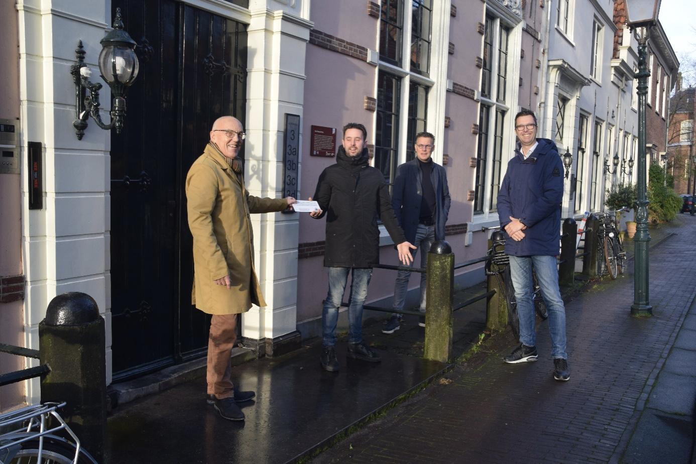 Huis met de drie Egeltjes krijgt monumentenprijs Oud Hoorn