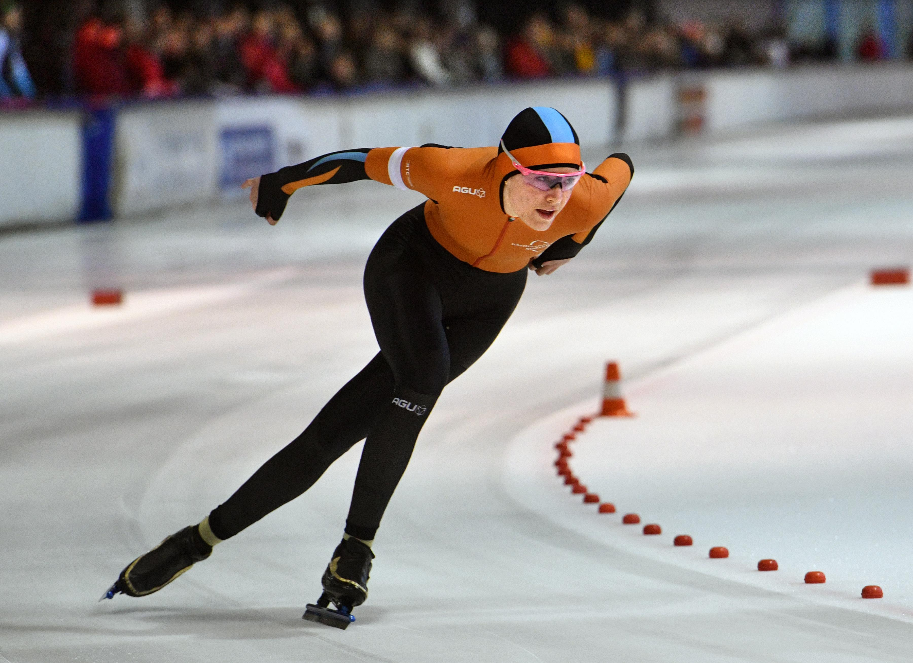Isabel Grevelt weet na NK sprint weer waarom ze op topniveau wil schaatsen
