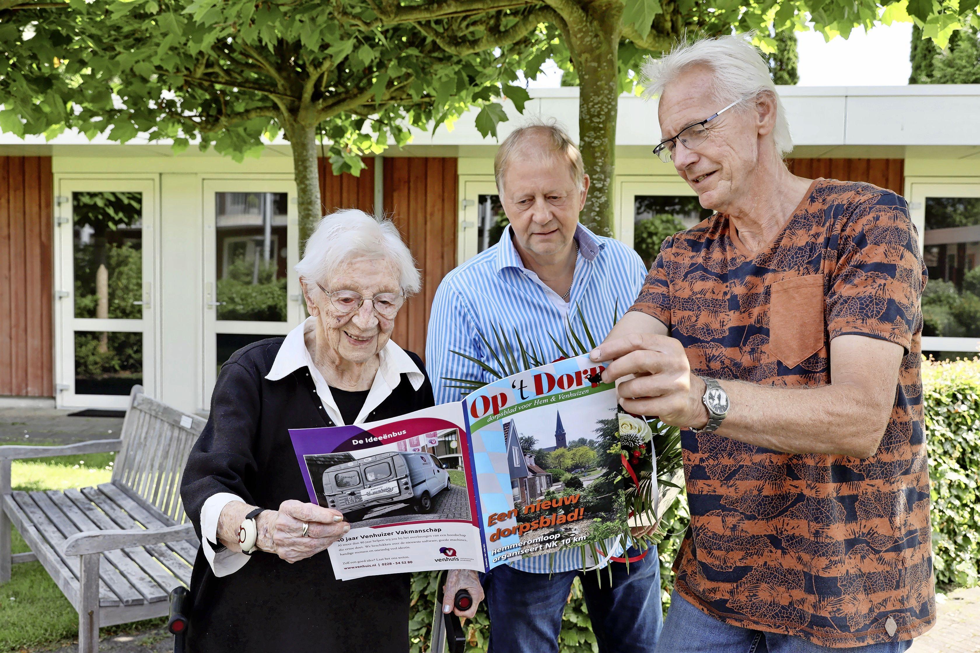 Oudste Venhuizer Zus krijgt jongste dorpsblad