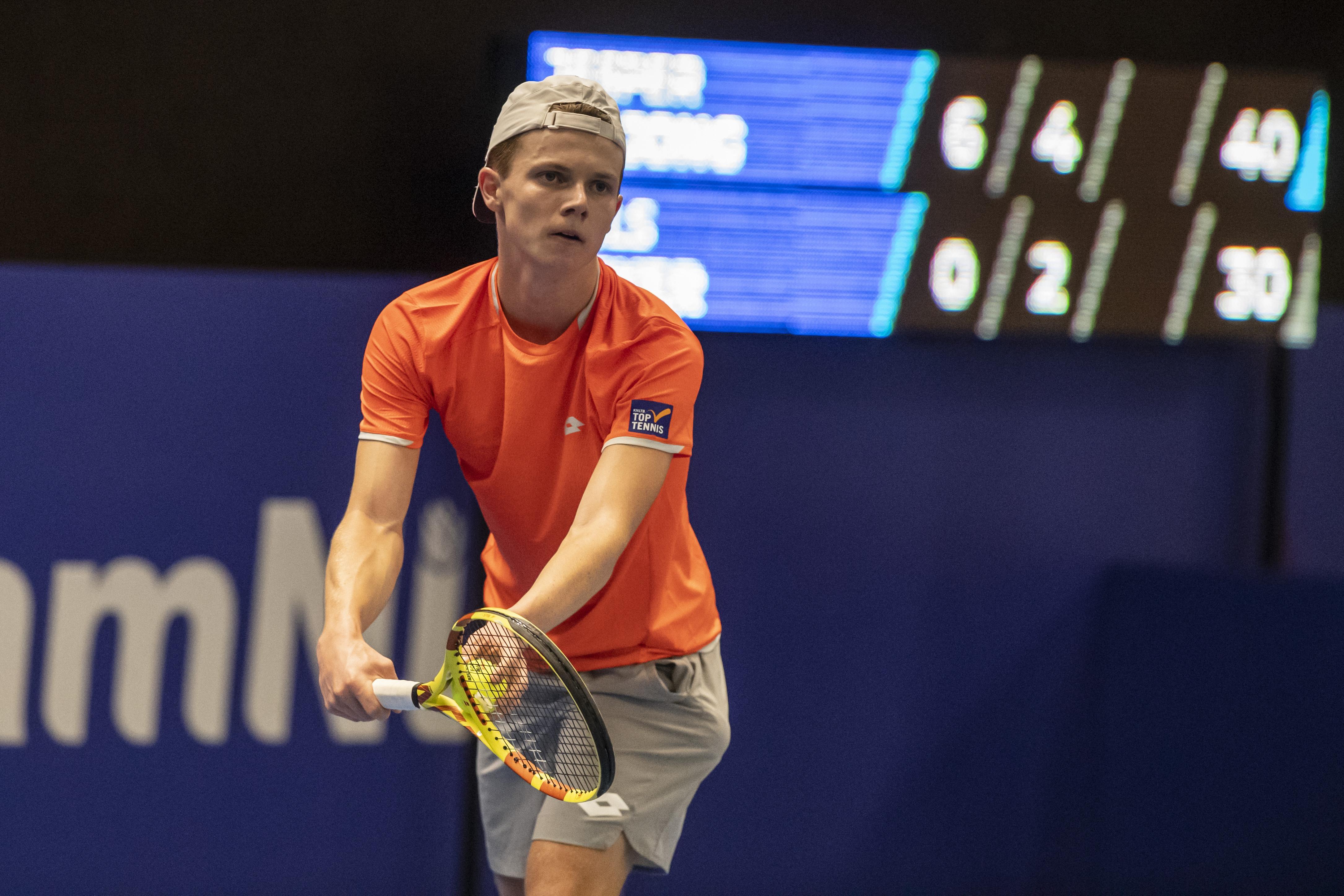 Groot aantal afzeggingen drukt stempel op NK tennis in Alphen aan den Rijn