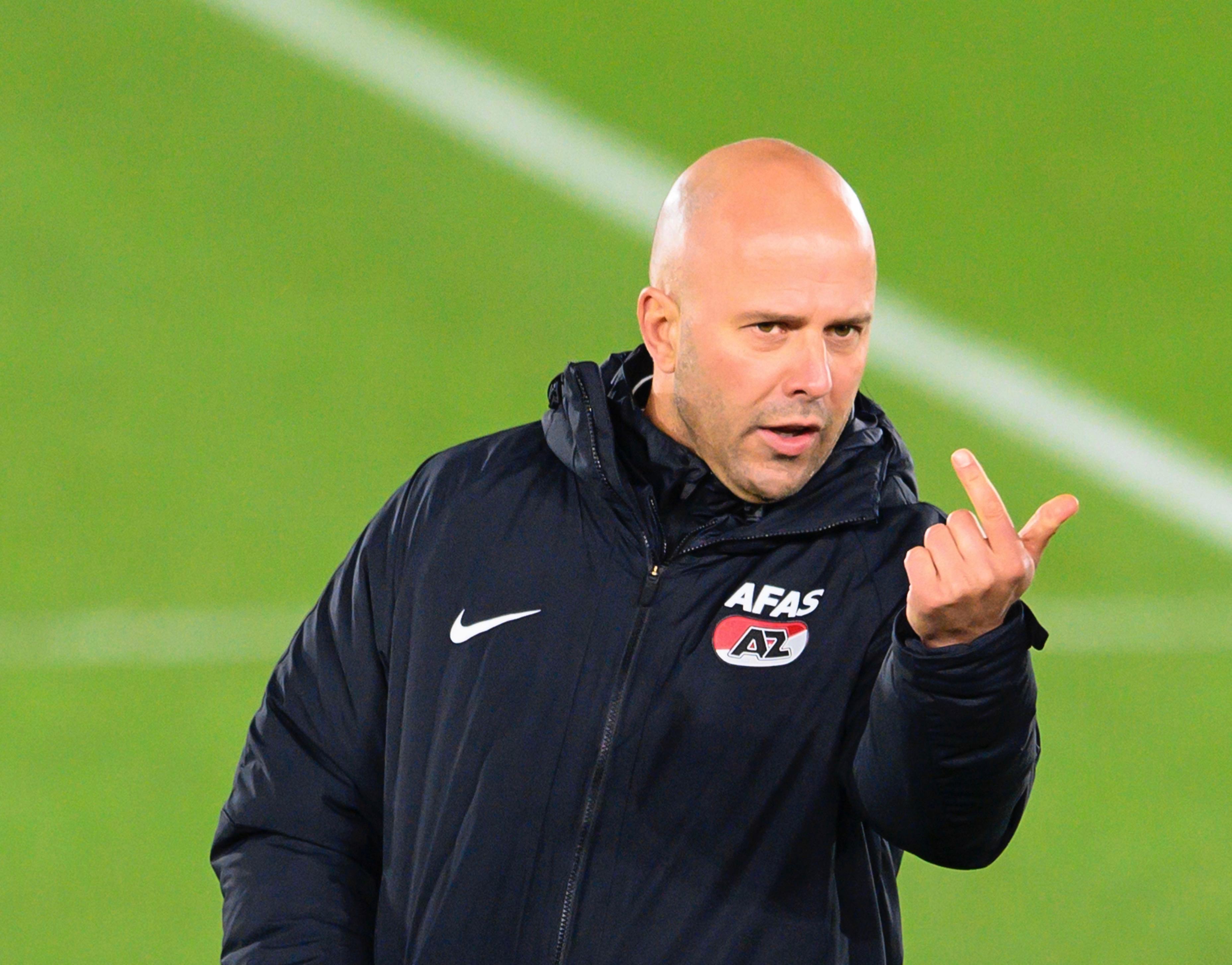 Arne Slot: 'AZ wist dat ik mijn contract niet wilde verlengen - het ontslag is een harde klap'