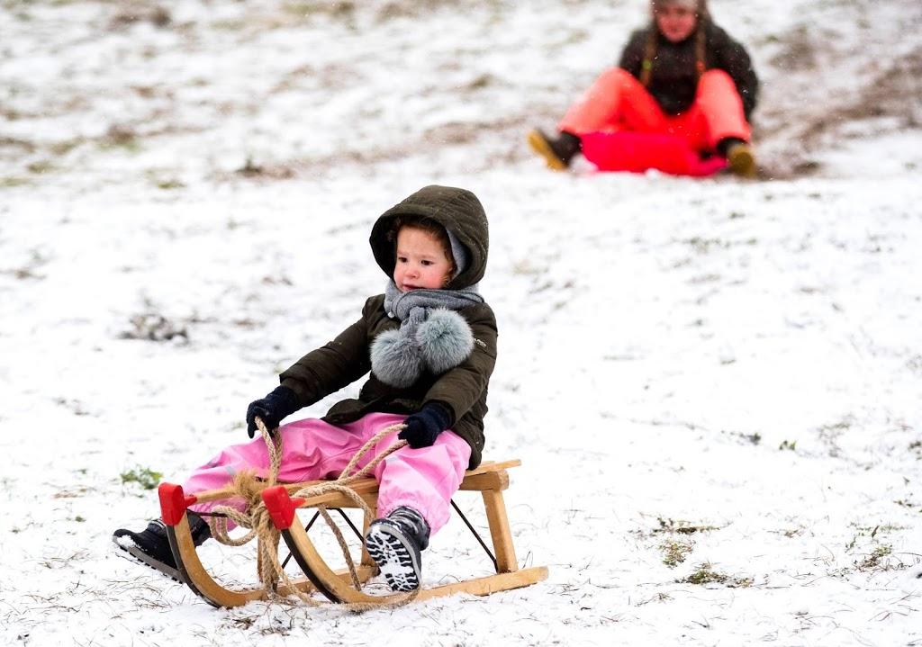 Na 715 dagen weer sneeuw in De Bilt