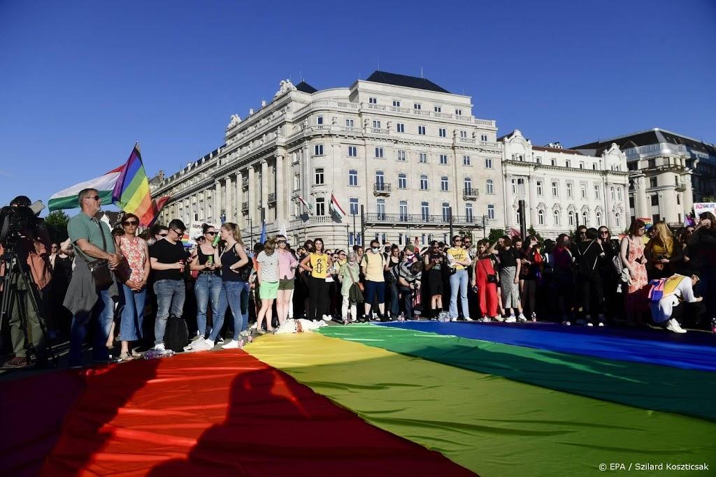 EU-ministers spreken Hongarije aan op wet tegen 'homopropaganda'