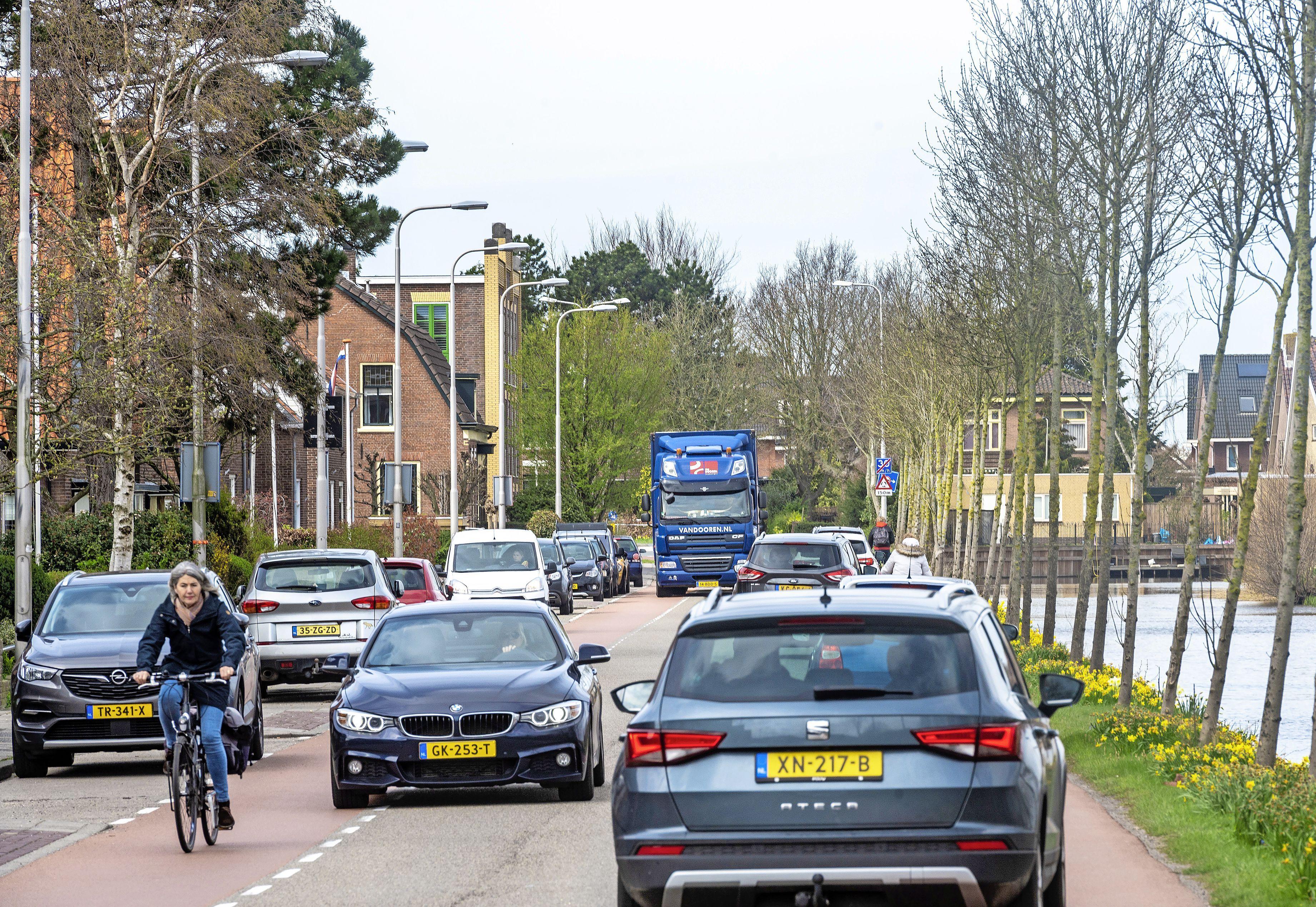 Hillegom roept deskundigen te hulp voor het probleem Wilhelminlaan: 'Het is daar veel te druk'