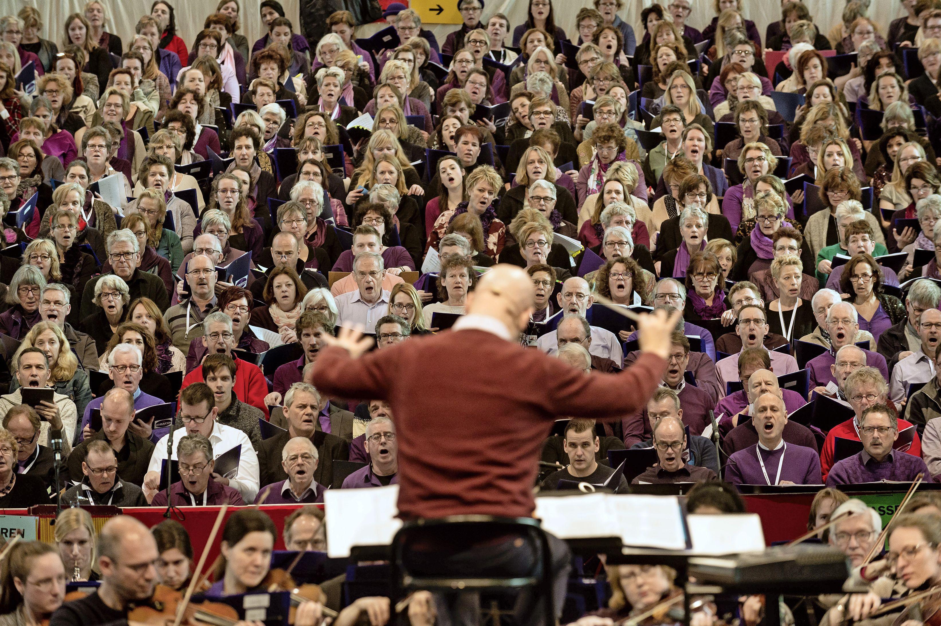 Eén knal zette zijn leven op zijn kop, nu houdt dirigent Martin van der Brugge een petitie tegen vuurwerk; 'Ik kom denk ik niet meer in concertbakken'