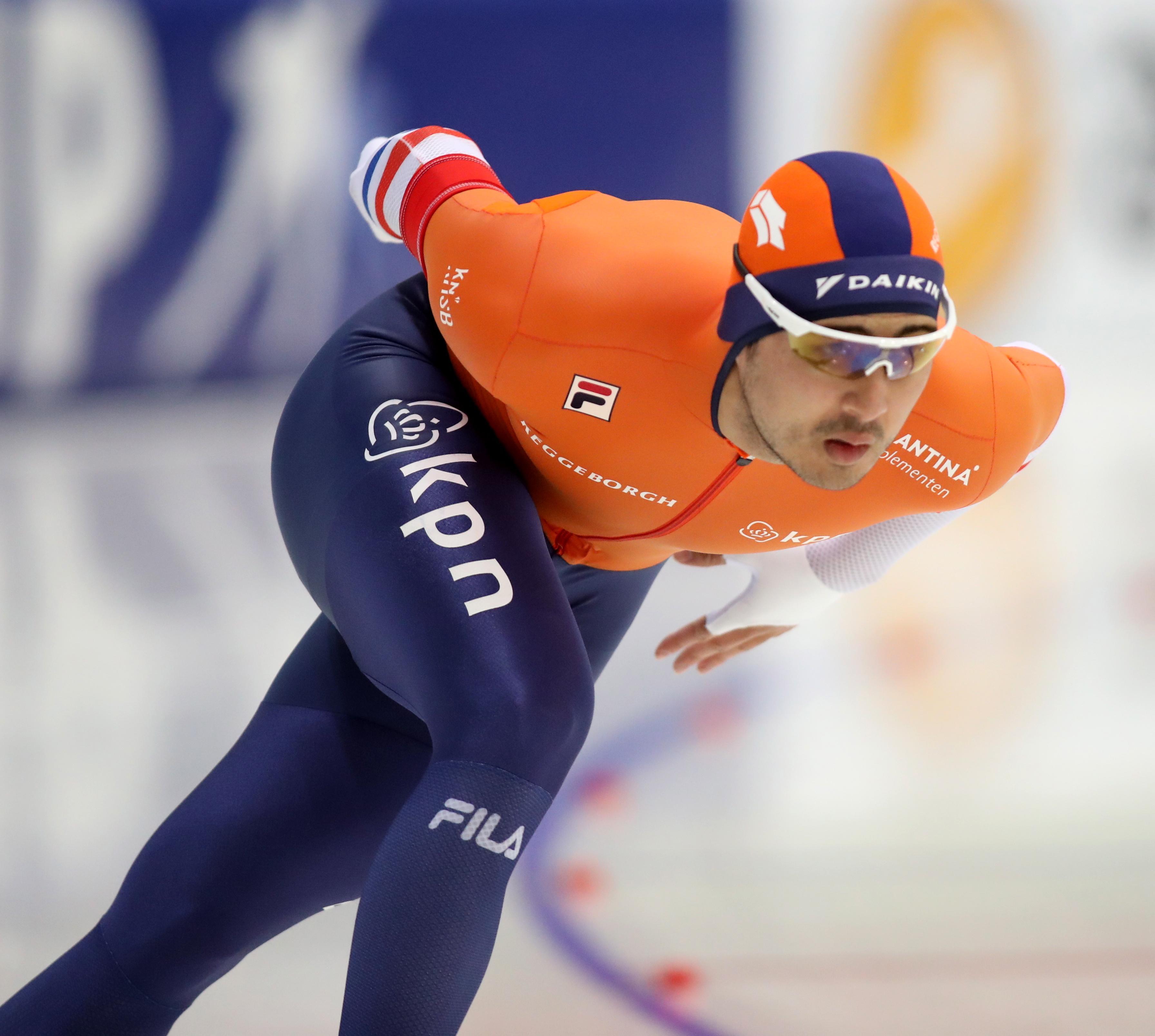 Zilver op 1000 meter voor schaatser Kai Verbij uit Hoogmade: 'Had harder gekund'
