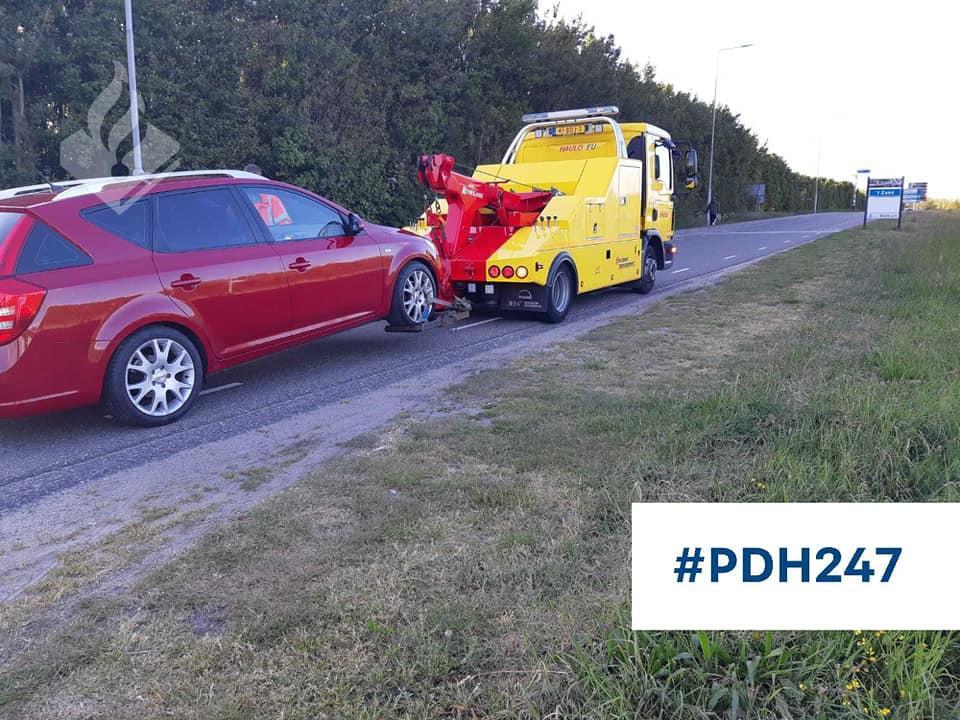 Bestuurder rijdt 110 kilometer per uur te hard over de N9; rijbewijs kwijt en auto wordt vernietigd