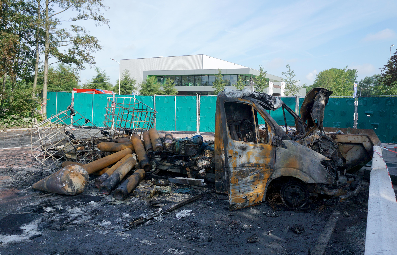 Vrachtwagenbrand Koog aan de Zaan waarschijnlijk dumping xtc-lab