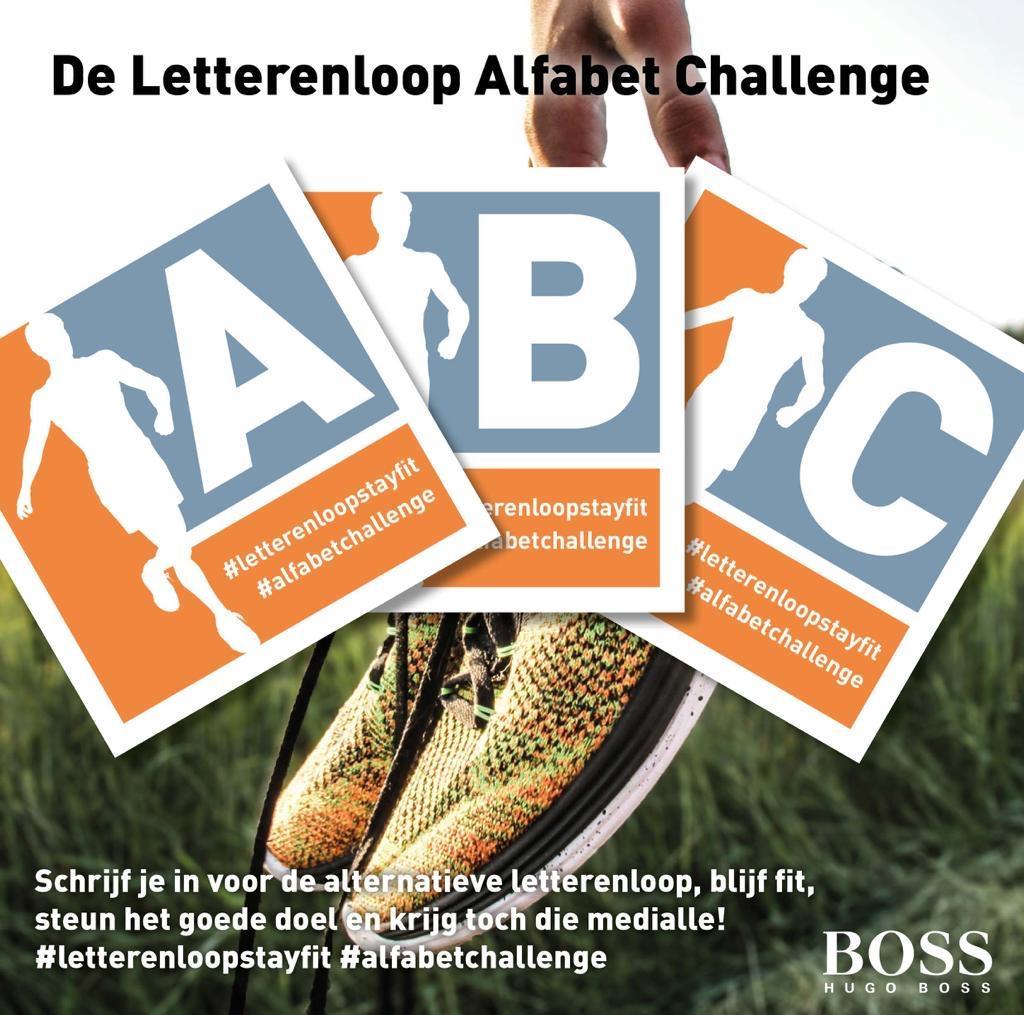 Alfabet Challenge alternatief voor afgelaste Haarlemse Letterenloop