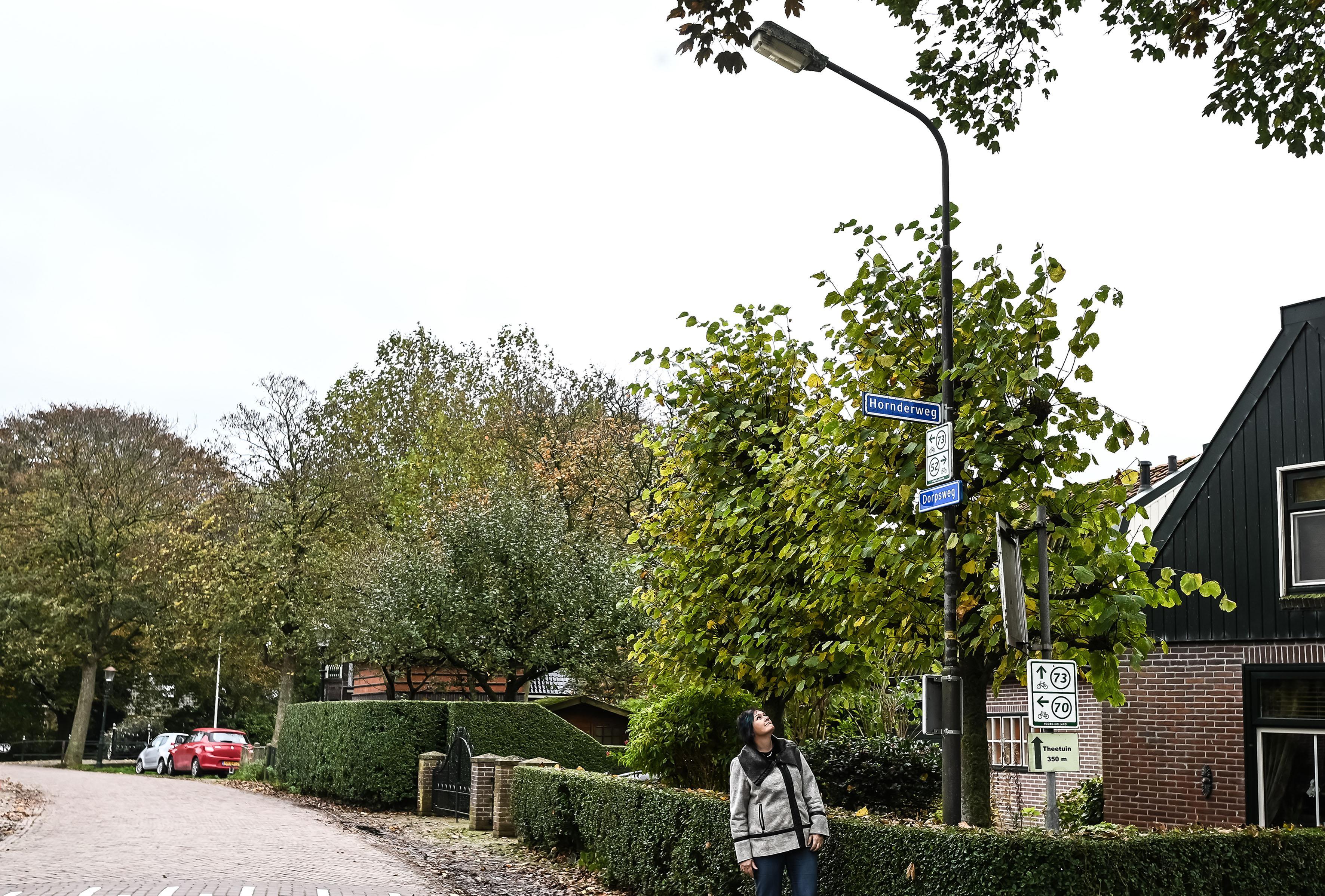 Geduld is op bij bewoners Twisk: 'Vervang ook die laatste paar lelijke lantaarnpalen'