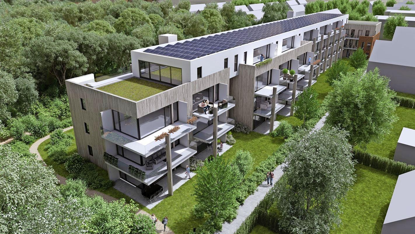 Omwonenden 't Laantje Loosdrecht slijpen de messen tegen 'te massaal' bouwplan