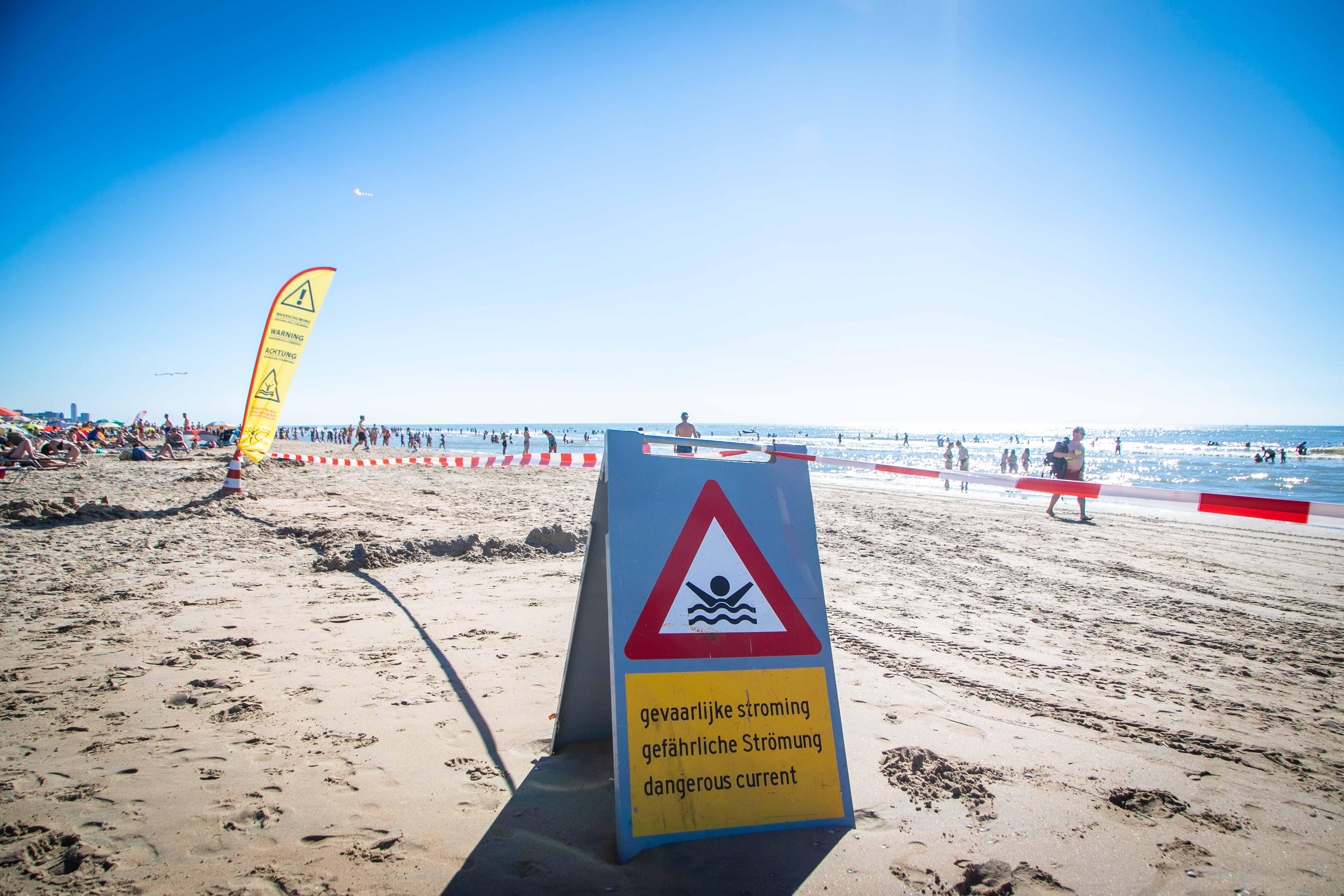 Reddingsbrigade waarschuwt ook maandag voor gevaarlijke zee