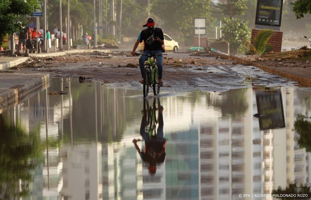 Orkaan Iota aan land in Nicaragua