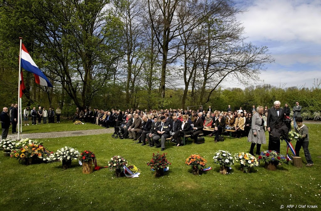 Dachauherdenking bij monument in Amsterdamse Bos zonder publiek