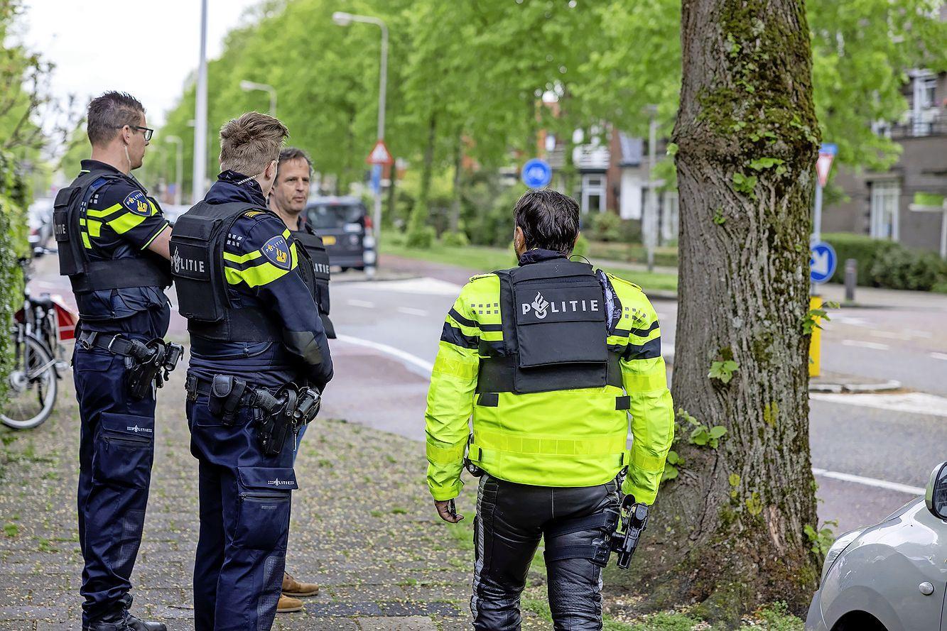 Agenten in kogelwerende vesten vanwege verwarde man op de Javalaan in Heemstede
