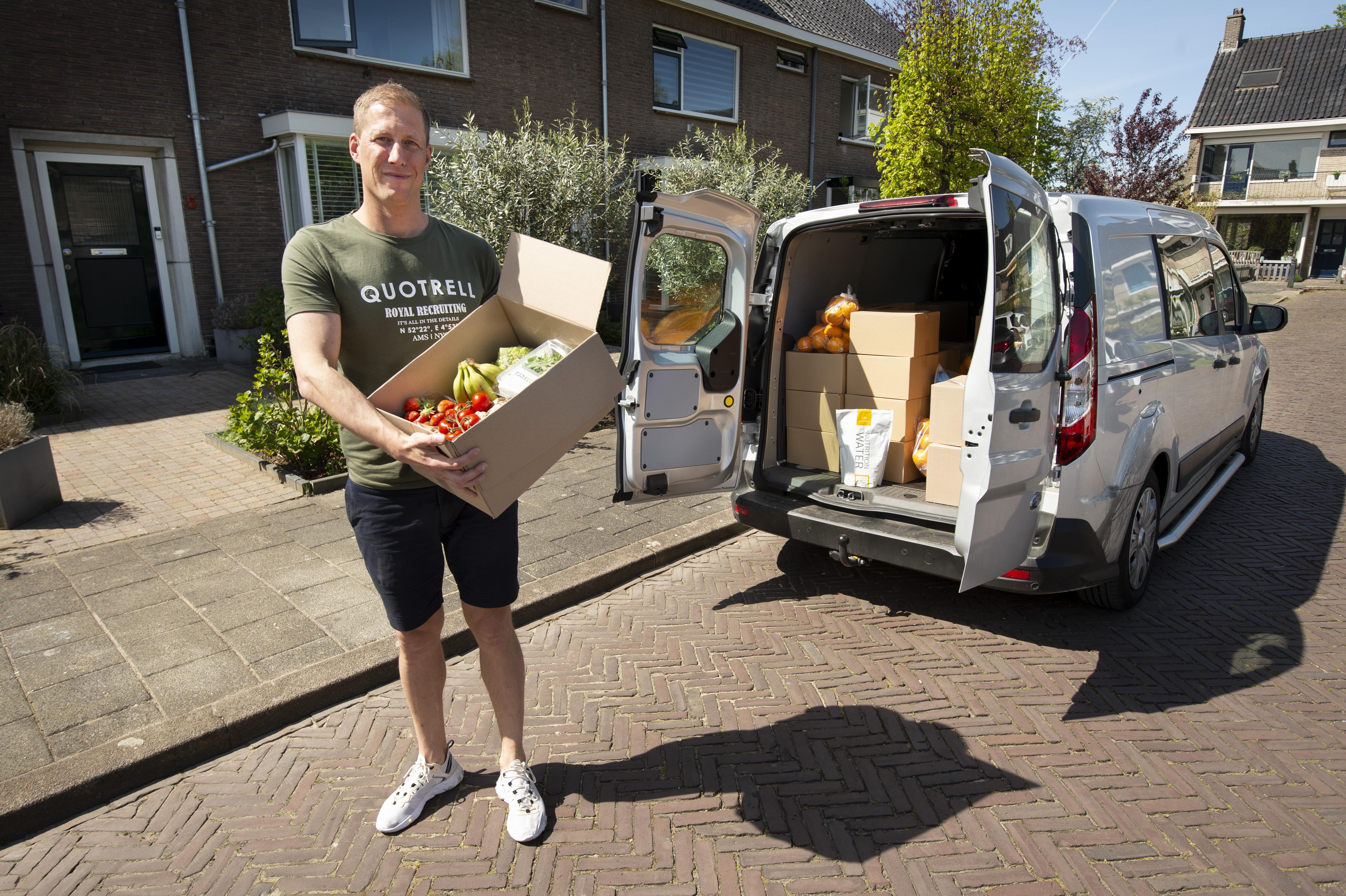 Beste startende ondernemer Leiderdorp verkoopt nu groente en fruit