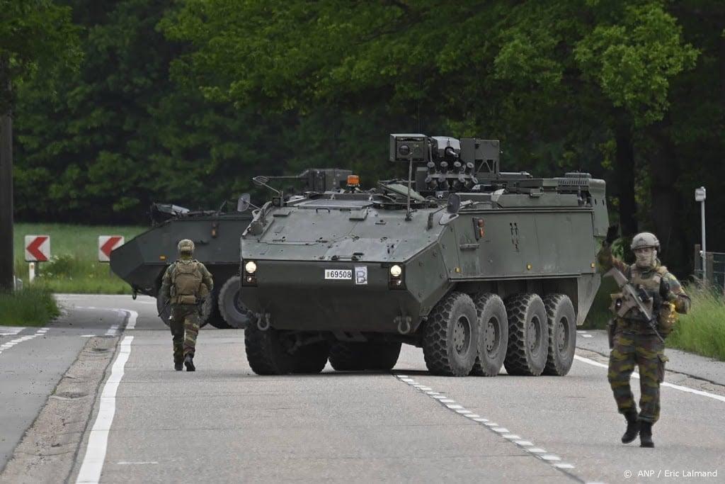 Opnieuw grote zoekactie naar voortvluchtige Belgische militair