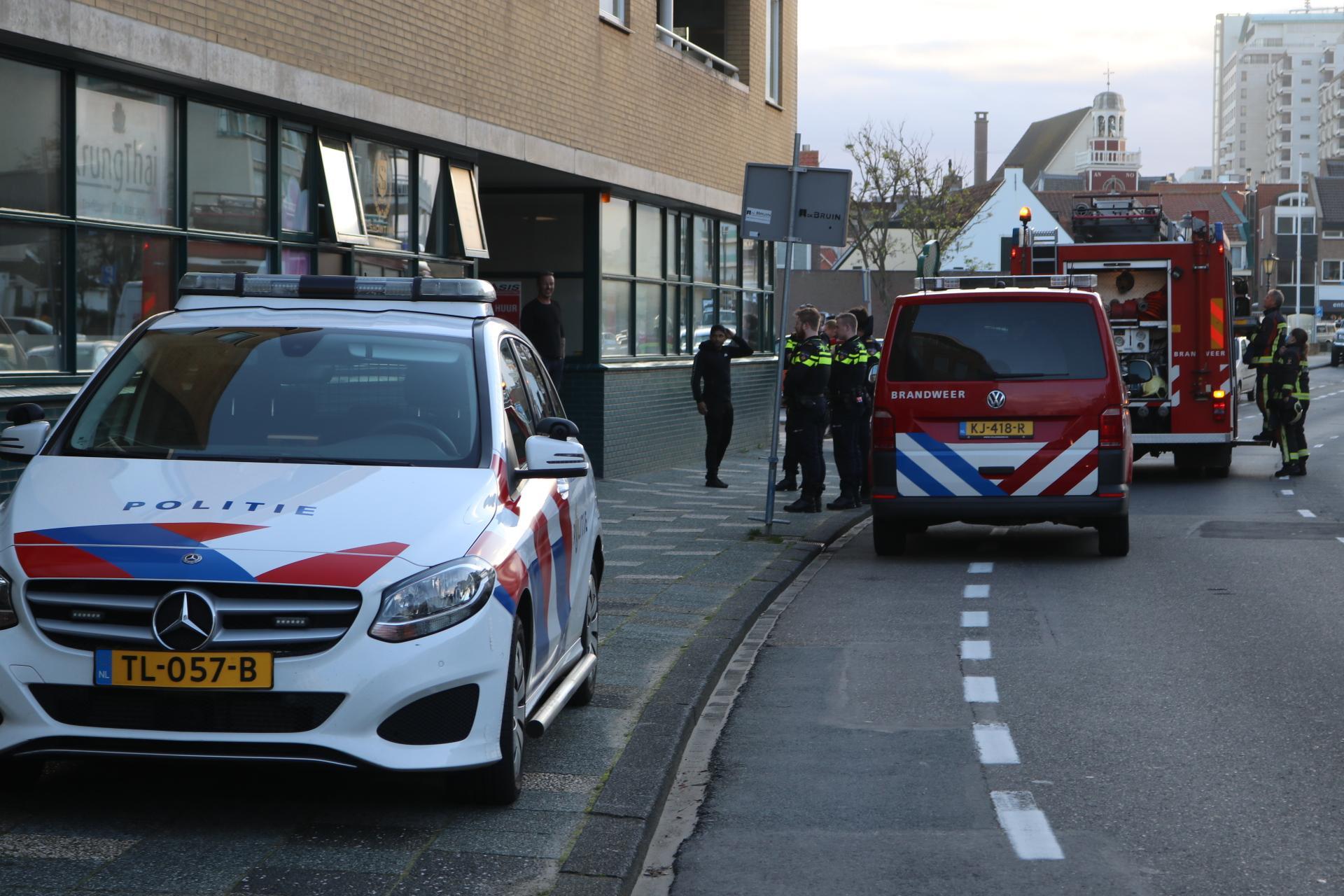 Sportschool en appartementen ontruimd na gaslek in Noordwijk