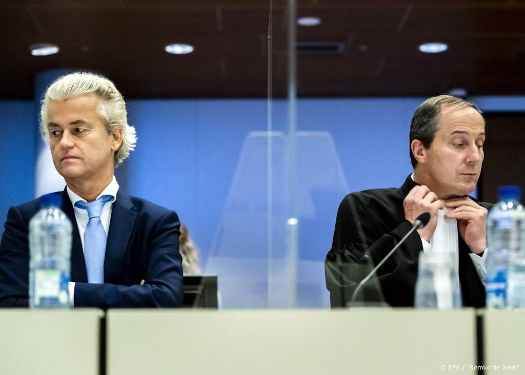 Hoger beroep Wilders nadert ontknoping