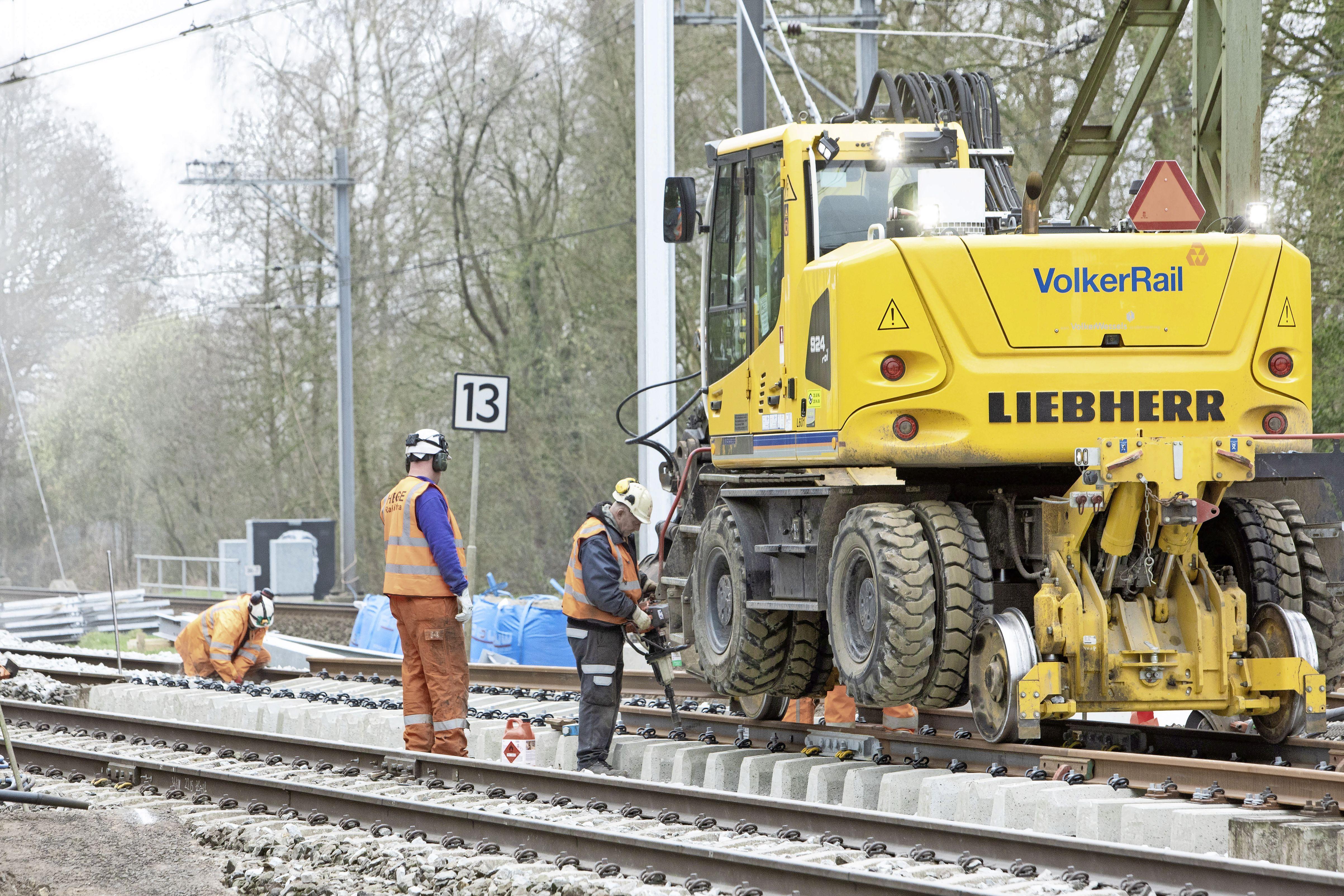 Treinverkeer tussen Baarn en Amersfoort ligt het hele paasweekend plat