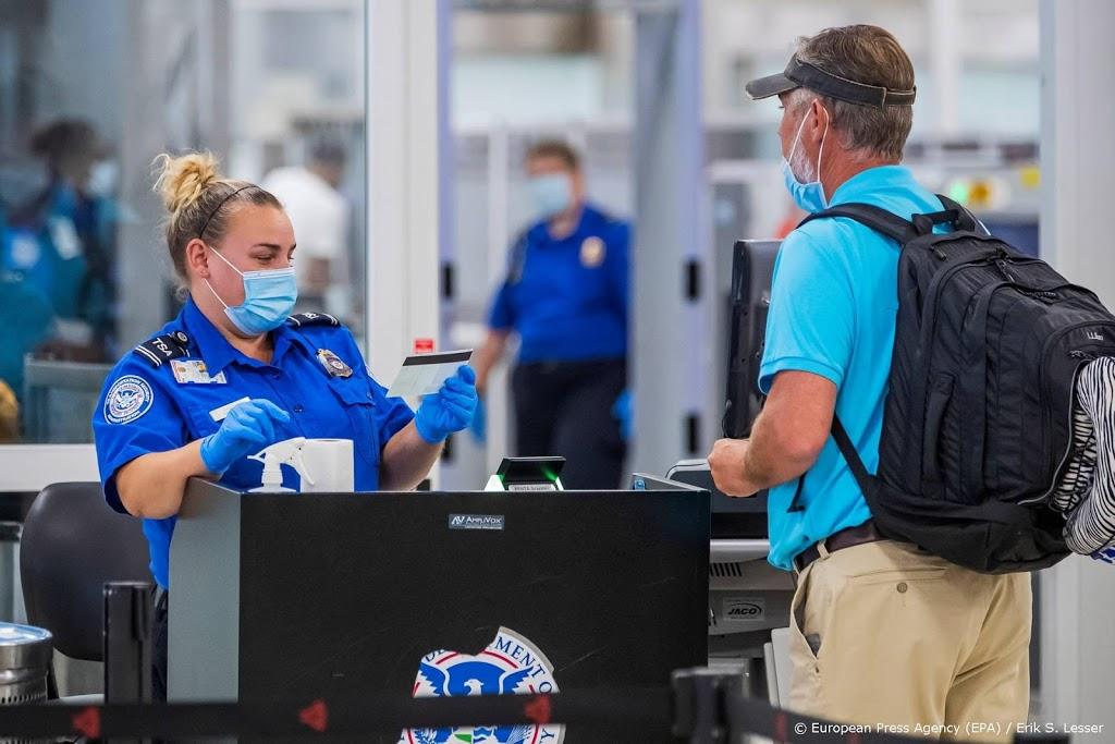 Meeste reizigers op Amerikaanse vliegvelden sinds maart
