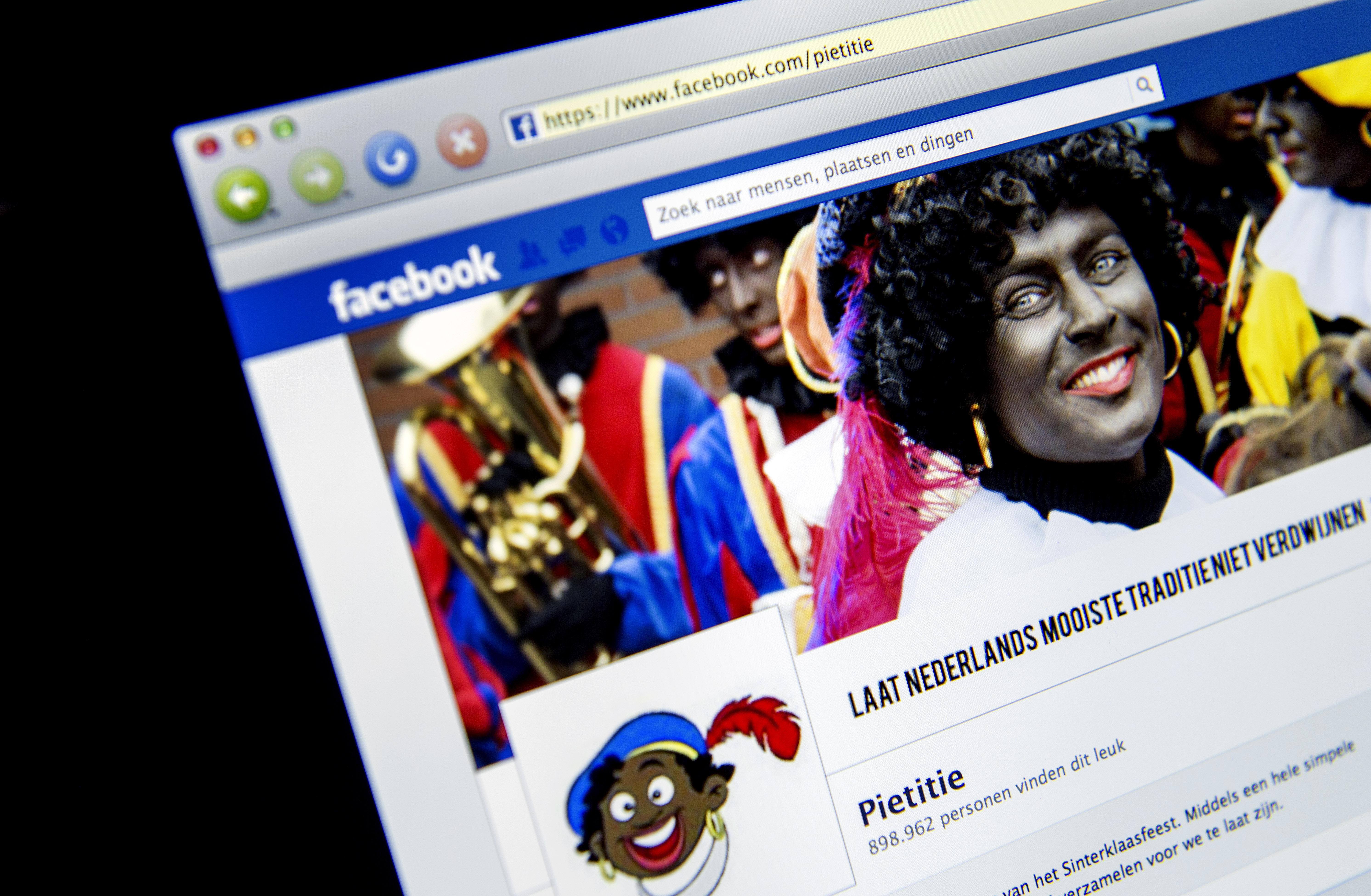 Wisselende stemming bij Sinterklaas op nieuws dat Facebook Zwarte Piet in ban doet