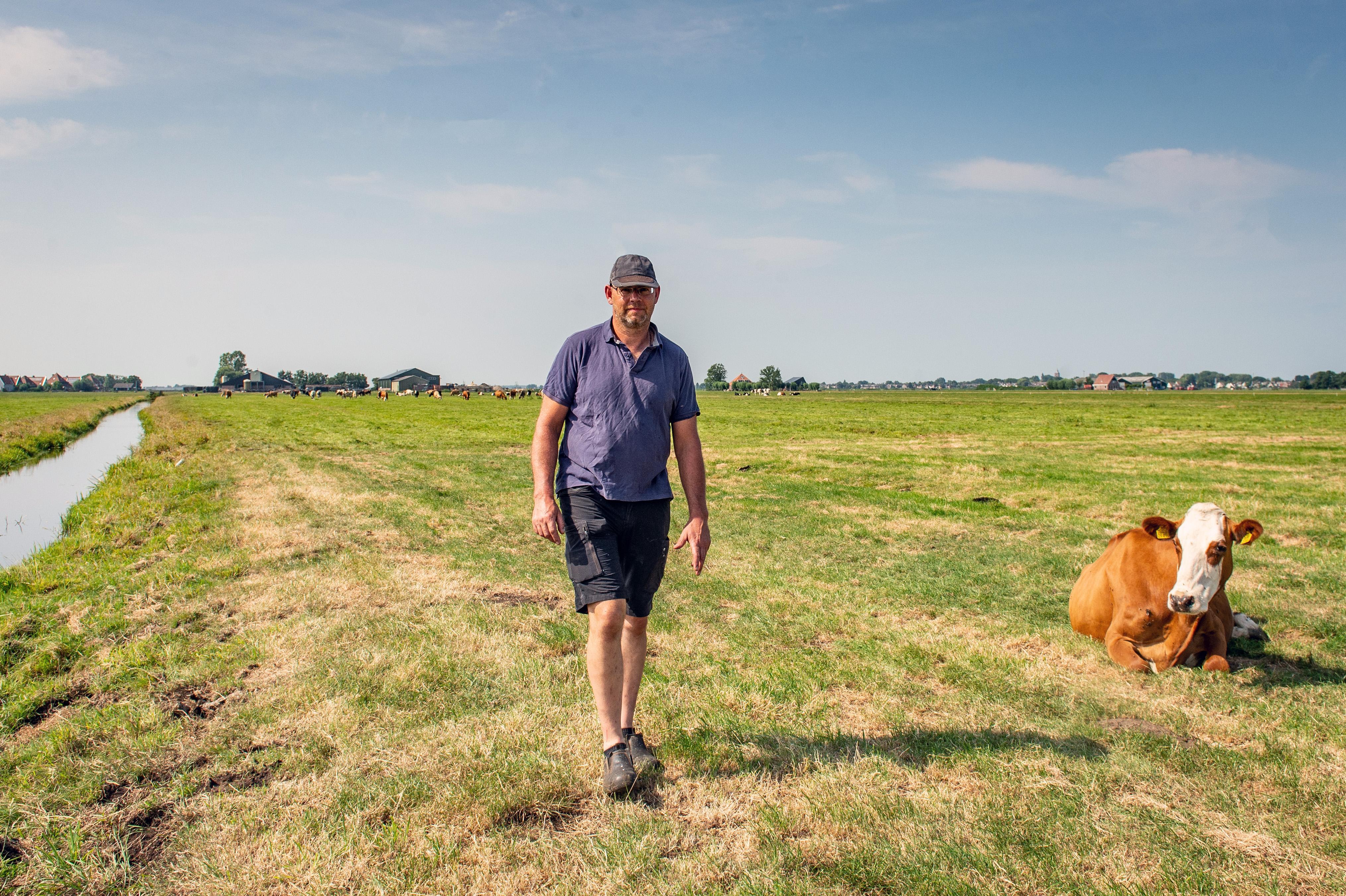 Erwin uit Zuiderwoude wil geen Brabantse boer worden. Vierde generatie wil blijven boeren mét de natuur