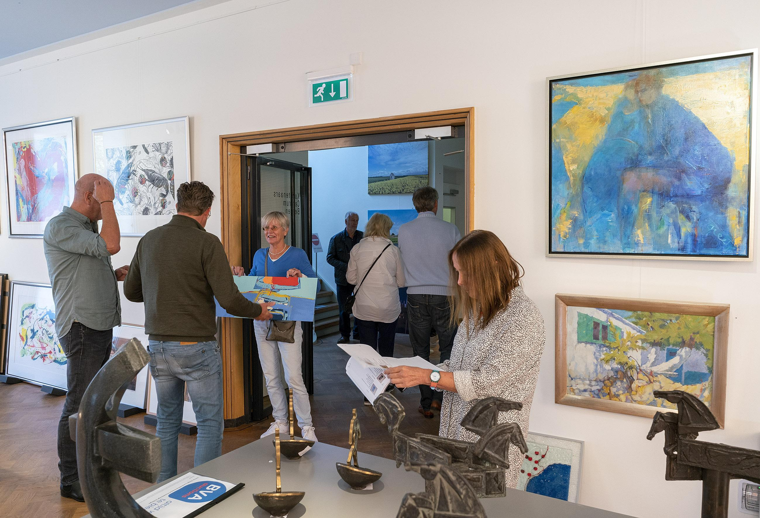 Kijkdag museum Kranenburgh in Bergen voor veiling kunst Rabobank: 'Veilingen maken hebberig'