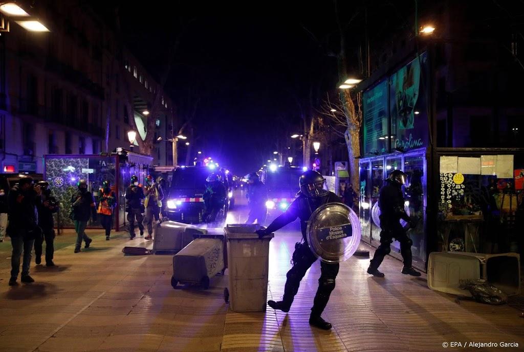Tien arrestaties in Barcelona bij onrust om aanhouding rapper