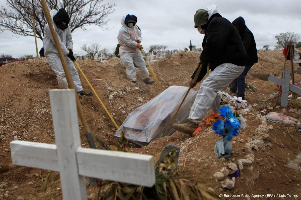 Mexico meldt als vierde land meer dan 150.000 doden door corona