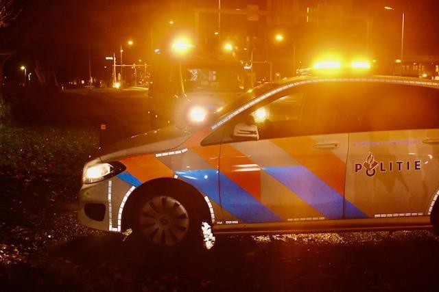 Wielrenster gewond bij botsing tegen scooter van maaltijdbezorger in Leiden