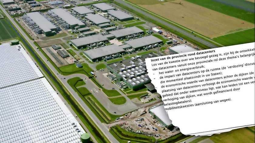 Dijkverhoging kop Noord-Holland dreigt door datacenters: kosten voor burger