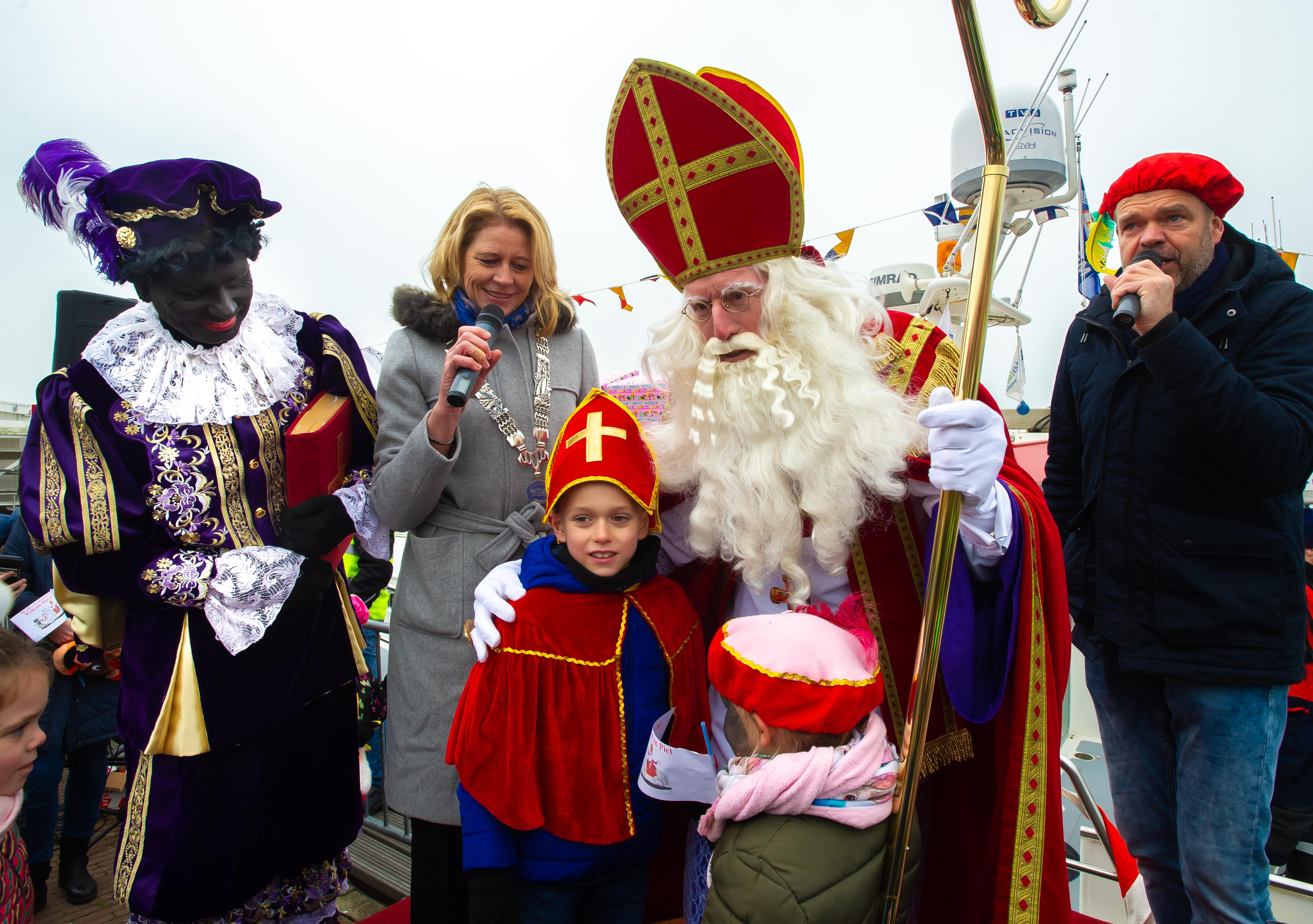 Sinterklaas op Marken, een magisch moment