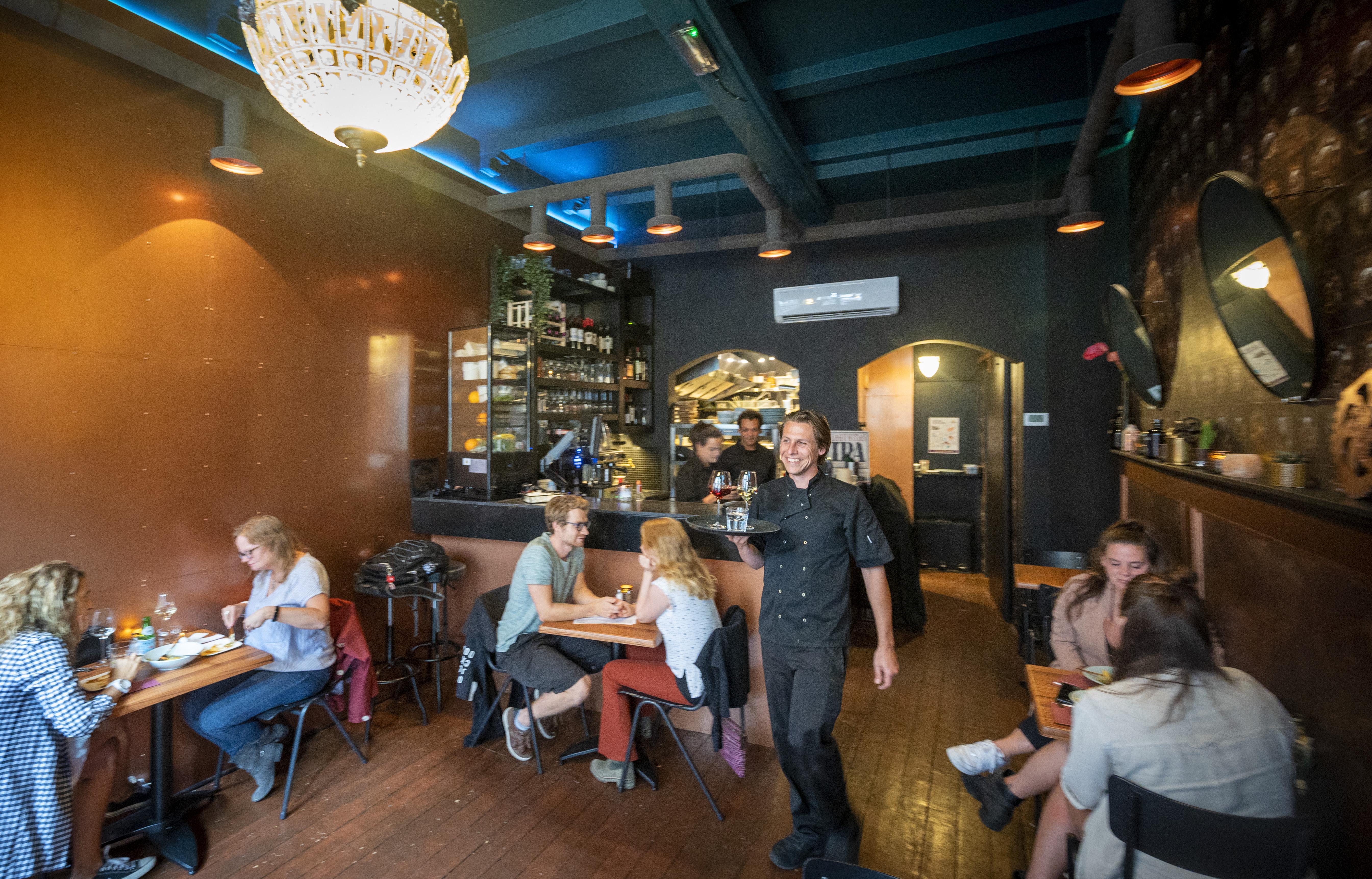 Goed eten bij New Vegas in Haarlem, maar chef-kok Bas Veldhoven mag best wel wat meer vegantische durf aan de dag leggen   recensie