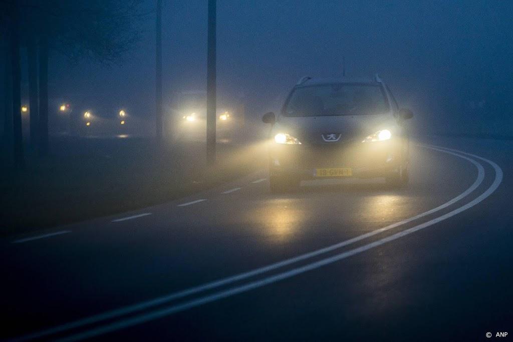 KNMI kondigt code geel af in bijna hele land wegens dichte mist