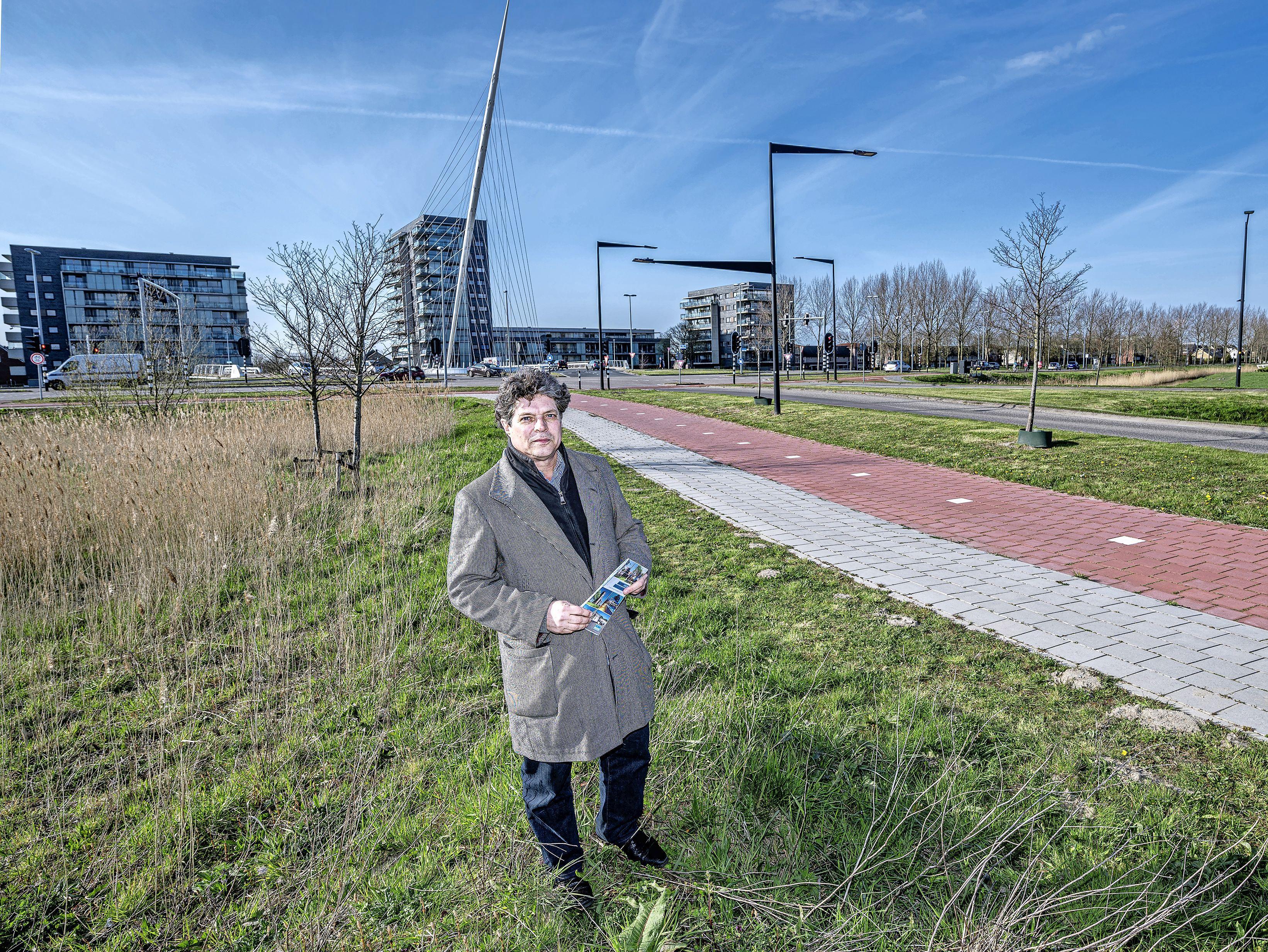 Lincolnpark is een uitdaging voor Joop Slangen, polderarchitect van Haarlemmermeer