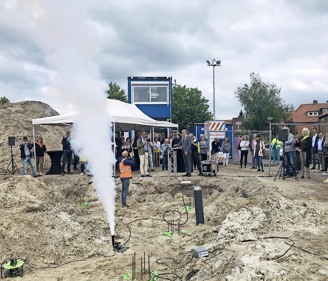 Inrichting van multifunctioneelcentrum Keverdijk in Naarden valt met ruim vier ton stuk duurder uit; Verkeerde inschatting en duurdere materialen