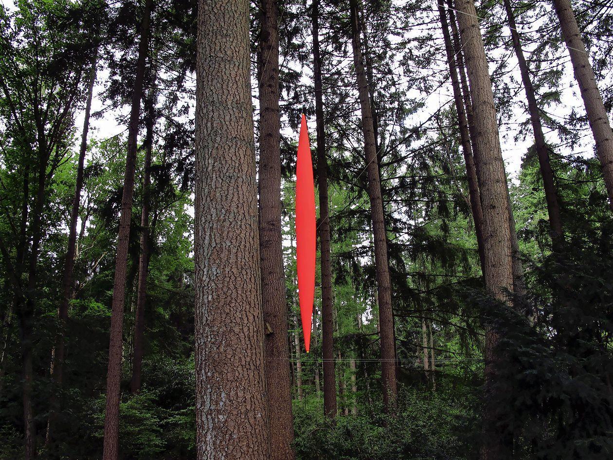 Paltz biënnale in Soest dit jaar alsnog georganiseerd: kunst tussen de bomen