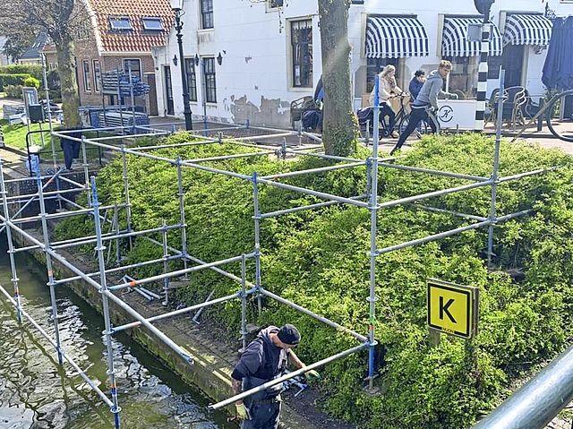Blij met verruiming terras De Kwikkel: 'Dit wordt het mooiste plekje in de haven van Medemblik'