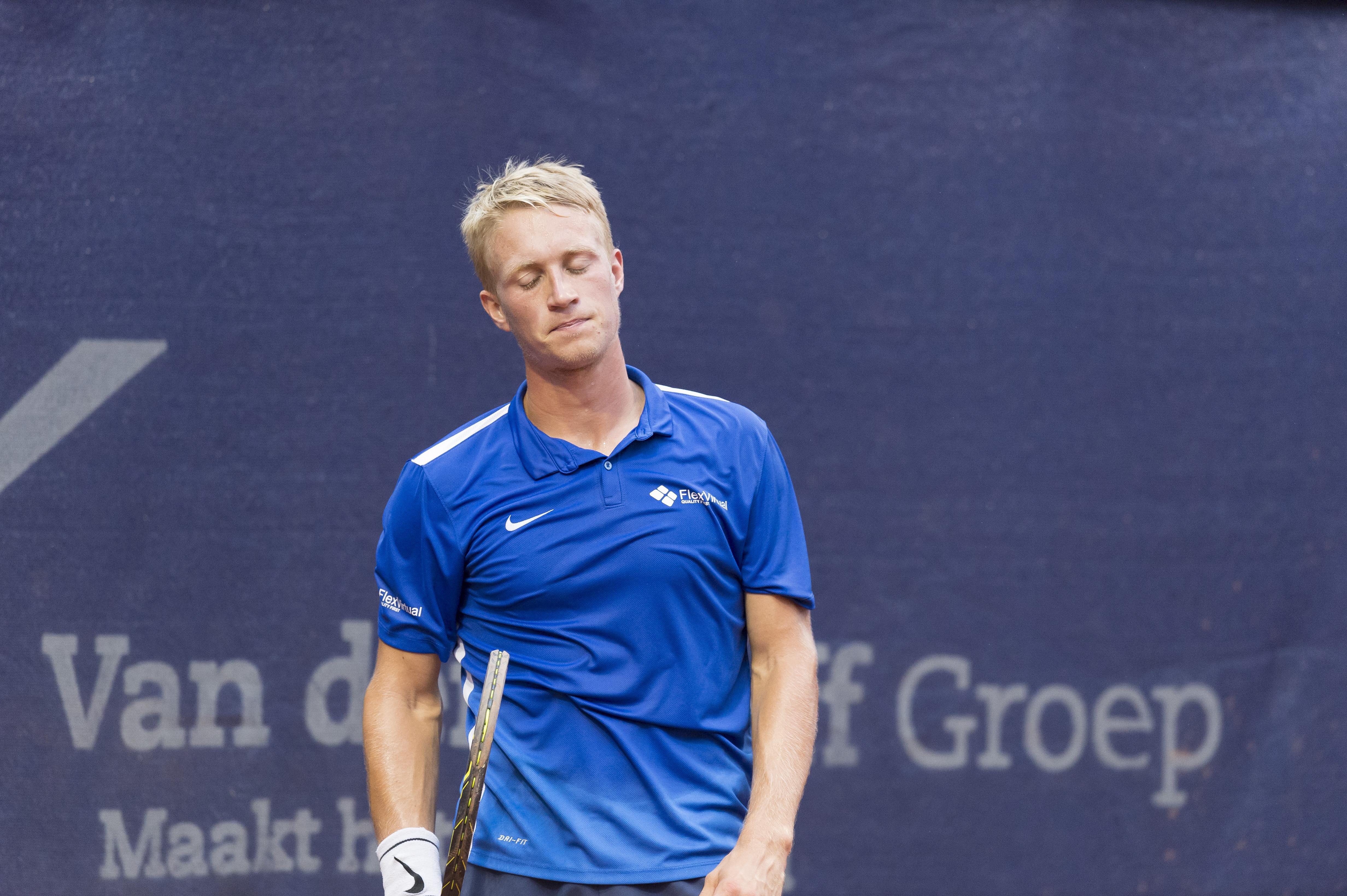 Tennisser Sels met vertrouwen naar Den Haag