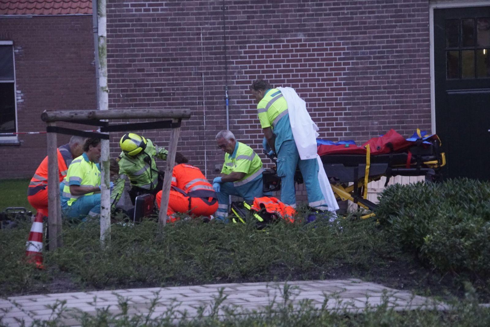 Patiënt in been geschoten na steekpartij in ggz-instelling Castricum [video]