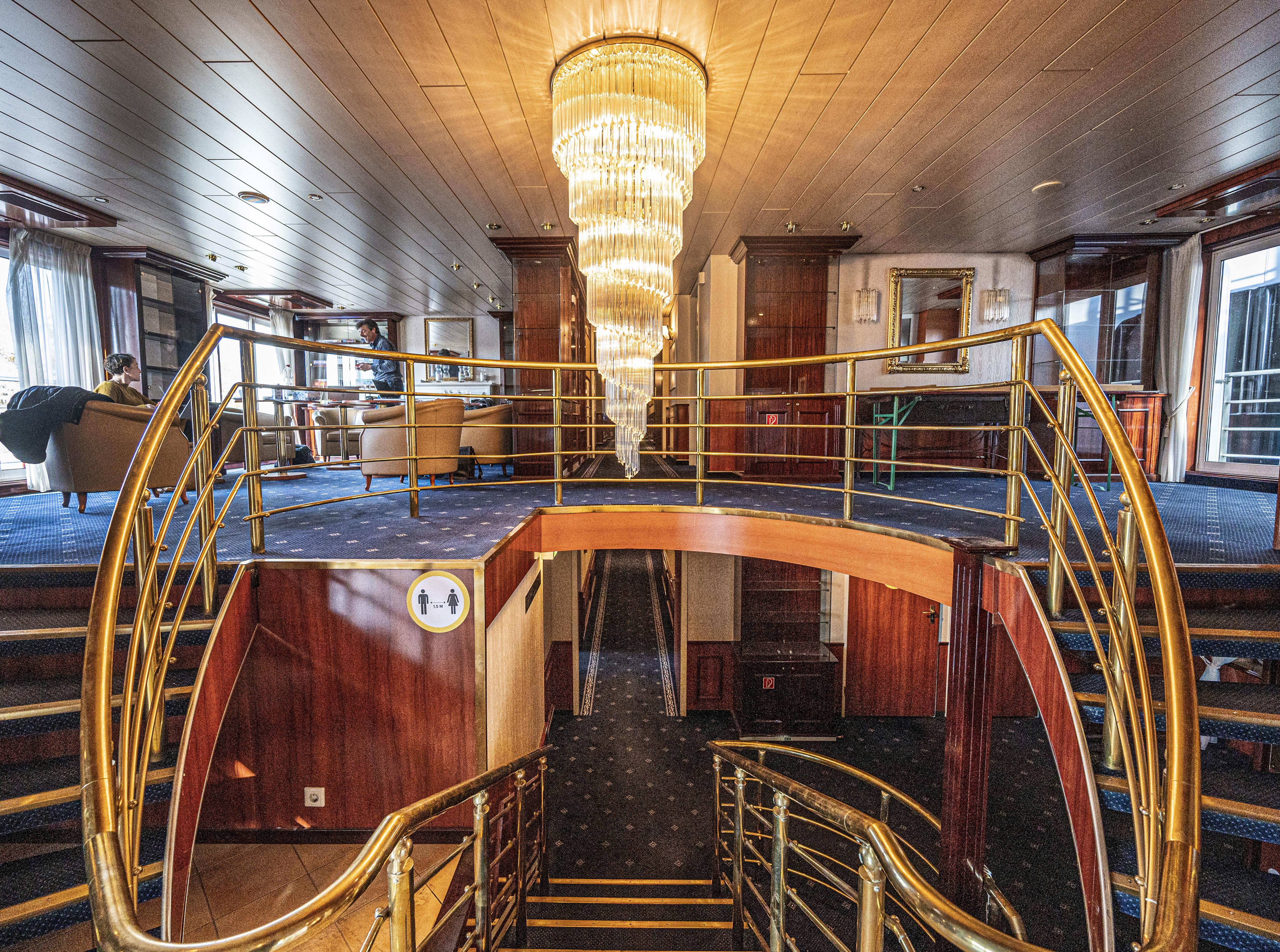 Eerste passagiers woensdag op cruiseschip Aurora: The Love Boat voor daklozen