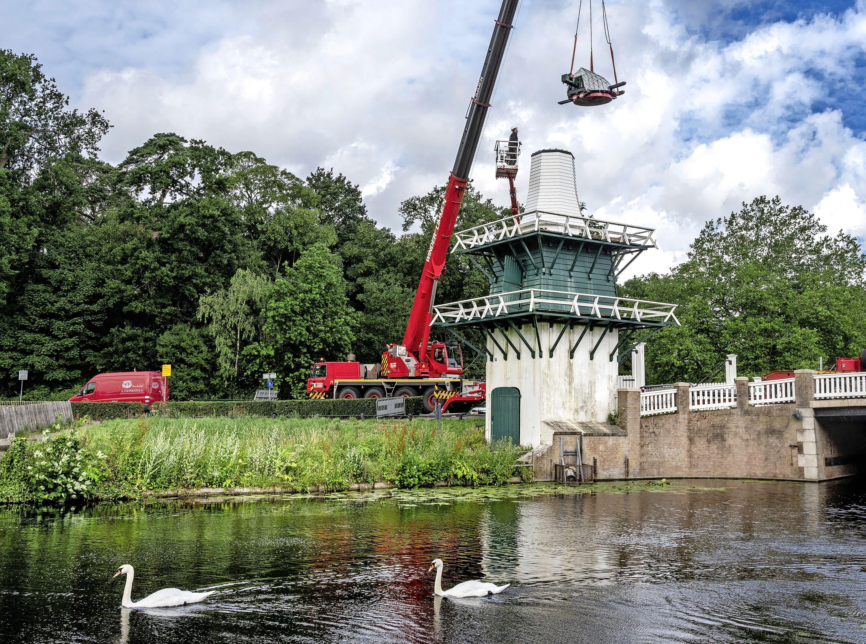 Het molentje, Herenhuis Meer en Bosch en de bomen bij Huis te Manpad; nominaties Erfgoedprijs bekend