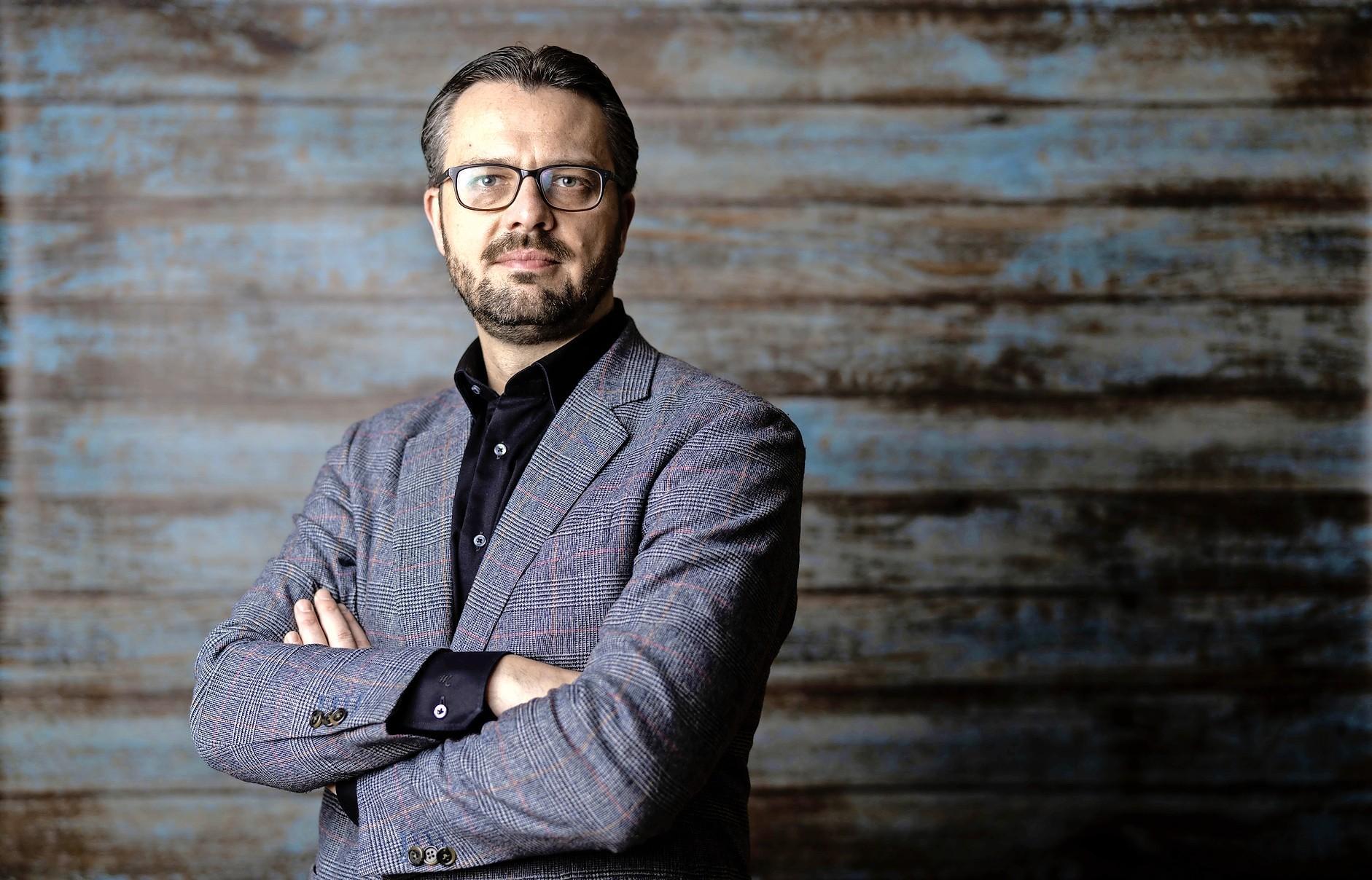 Organisator Alexander Mouret: 'Wat ik mooi vind, wil ik delen'