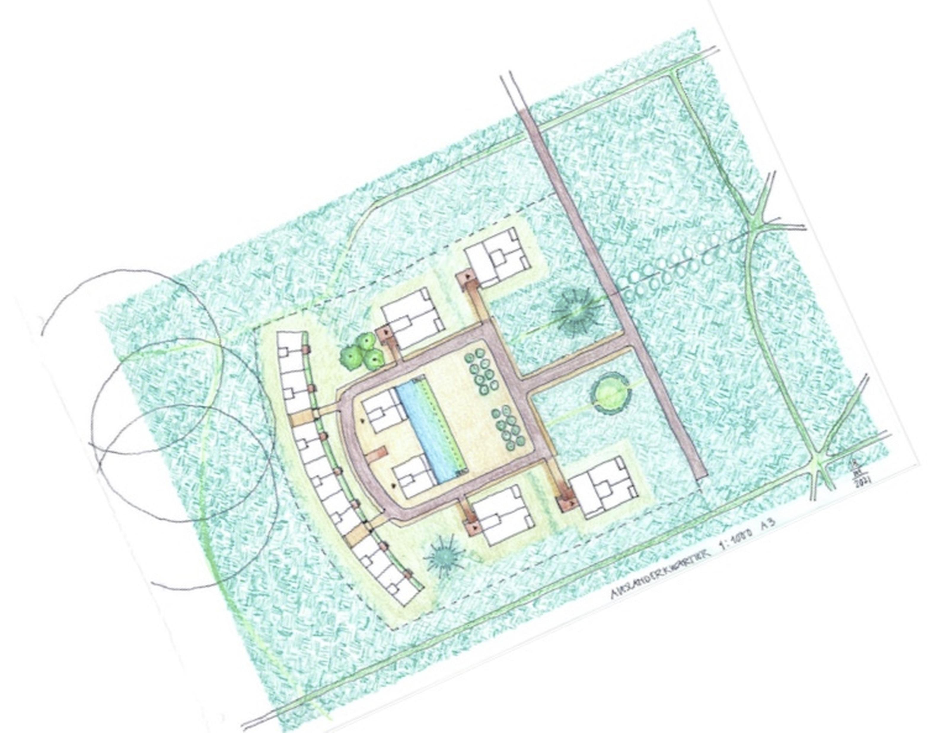 Nieuw woningbouwplan paleis Soestdijk uitgelekt: woonwijk Alexanderkwartier wordt kleiner, krijgt meer woningen en gaat nog altijd ten koste van stukje Borrebos