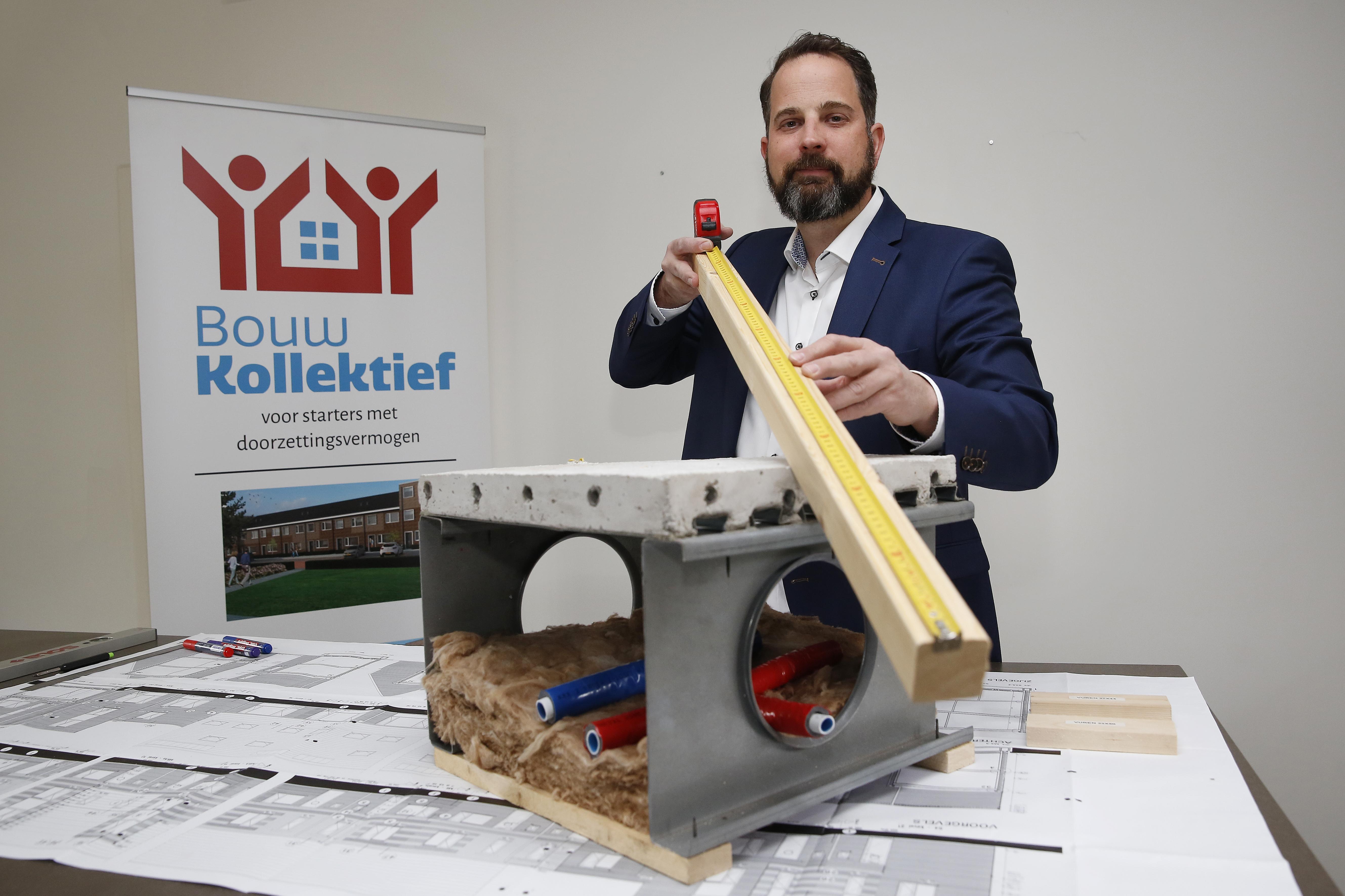Prefab-huis dat starters zelf moeten afbouwen kost 500 uur, maar bespaart flink wat geld