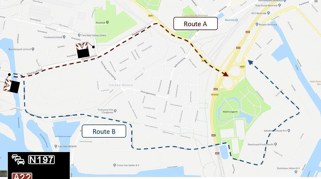 Bewoners Velsen-Noord mogen meedenken over tegengaan sluipverkeer door hun wijk, proef met alternatieve route is mislukt