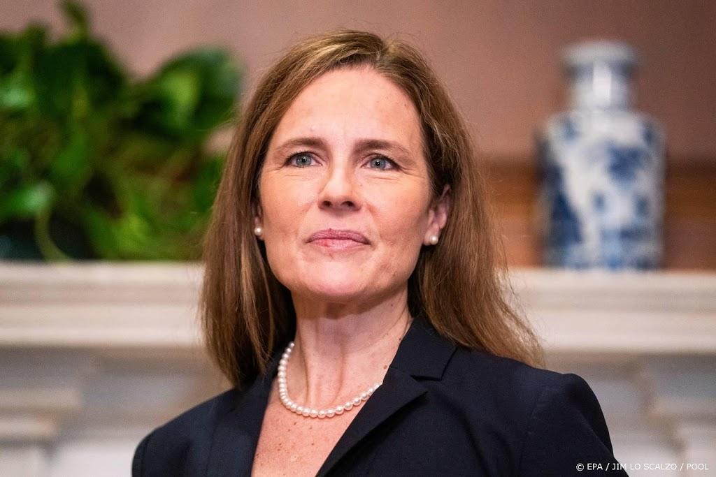 Senaat VS stemt voor nominatie Coney Barrett in Hooggerechtshof