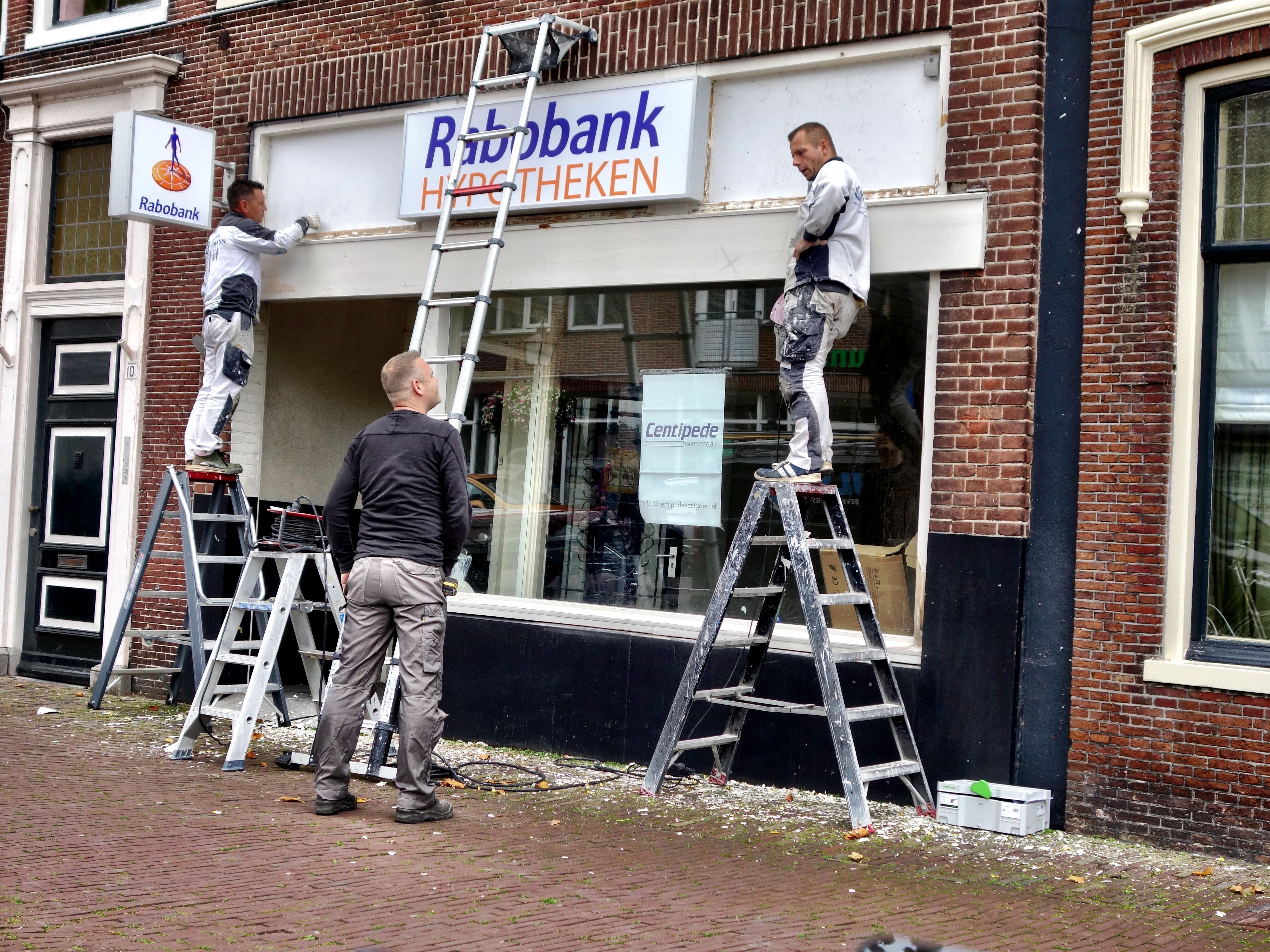 Rabobank even terug in hartje Hoorn