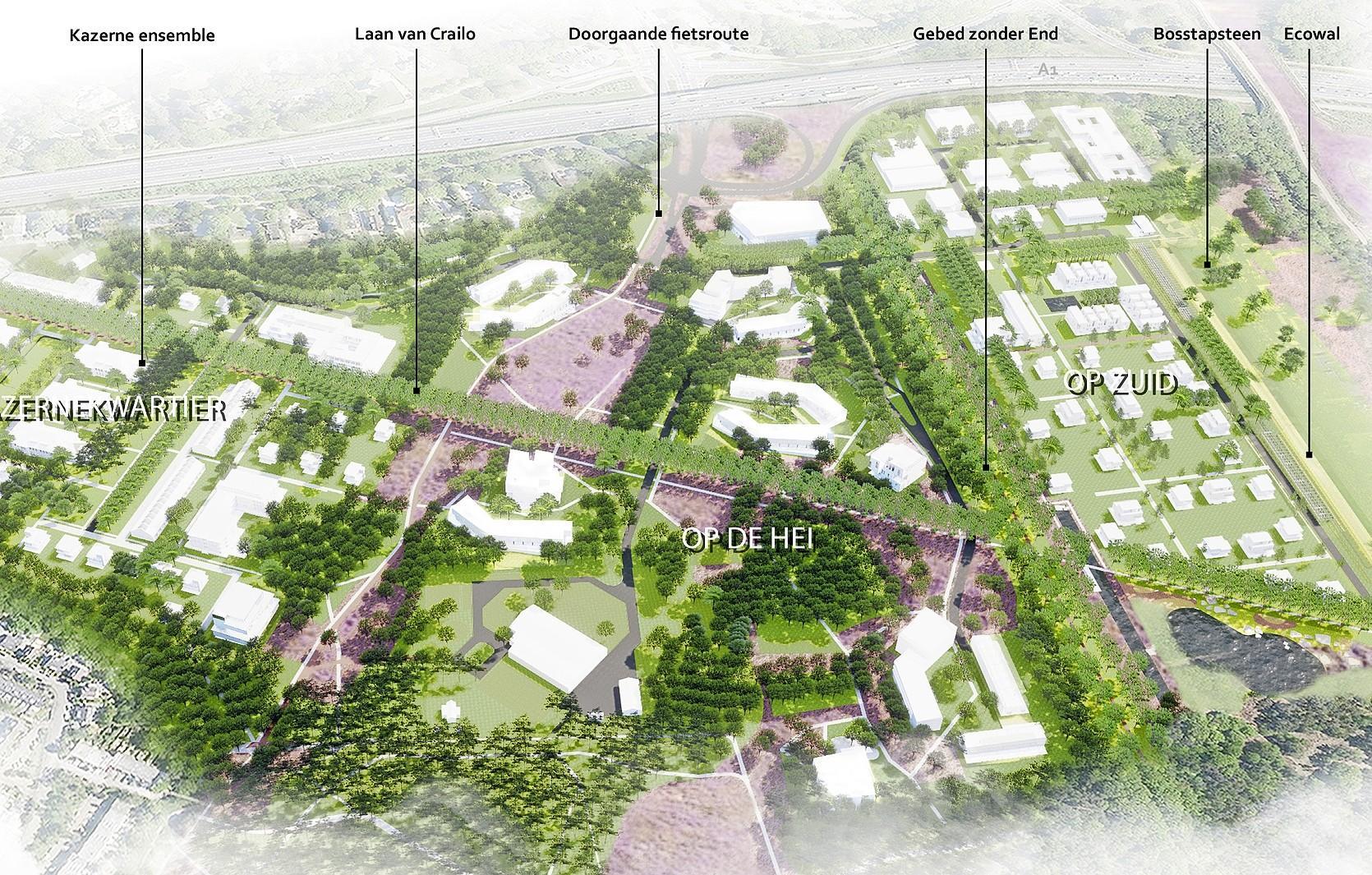 Nieuwe stap op weg naar buurtschap Crailo: ontwerp-bestemmingsplan spoedig ter inzage, afwijkingen wat betreft bouwhoogte, geluid en geur